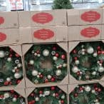 christmas wreaths at costco
