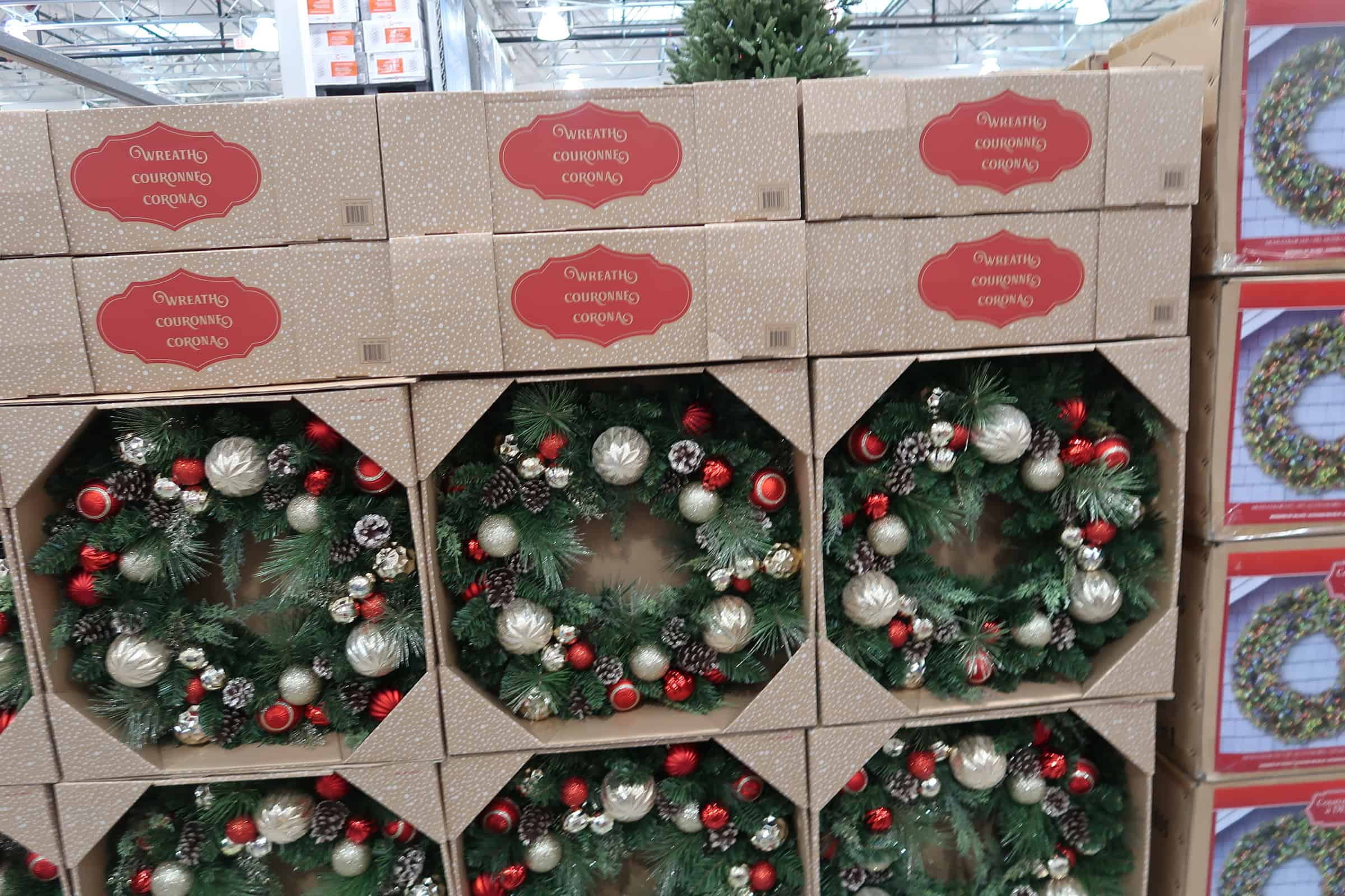 Christmas Wreaths & Garland at Costco