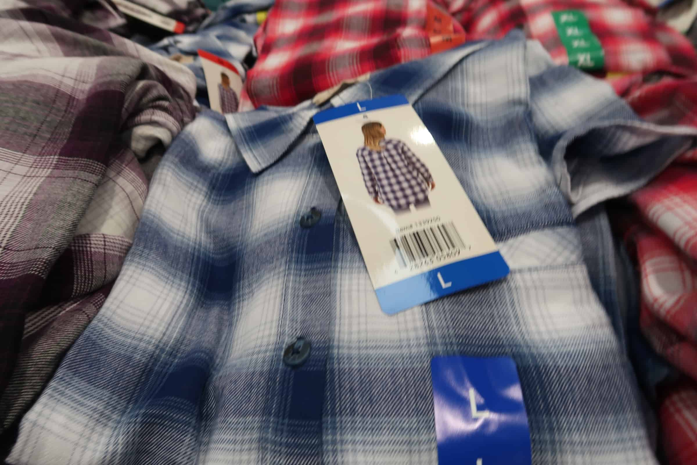 Ladies Flannel Tunics $12.99 at Costco