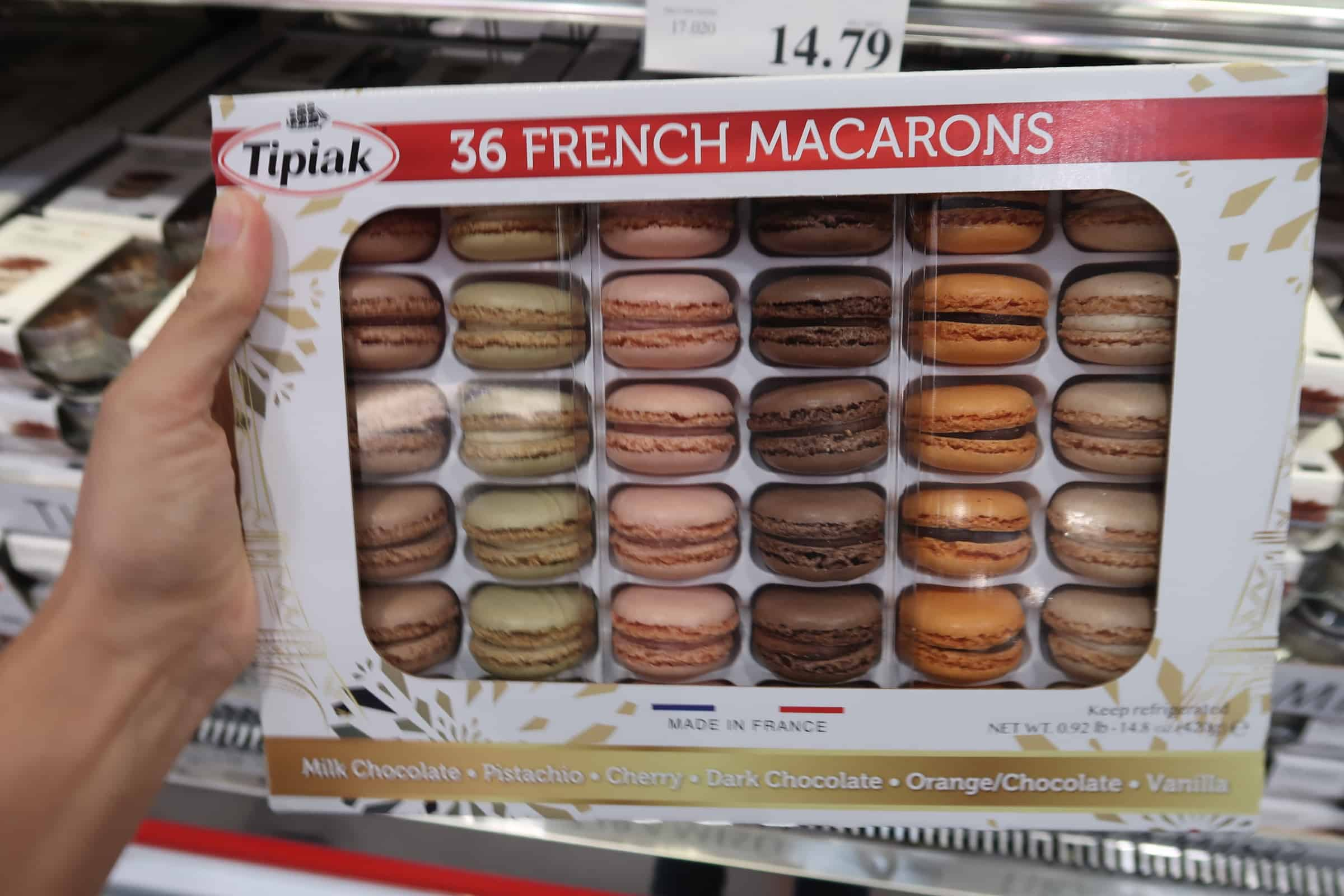 Get Fancy & Grab French Macarons at Costco