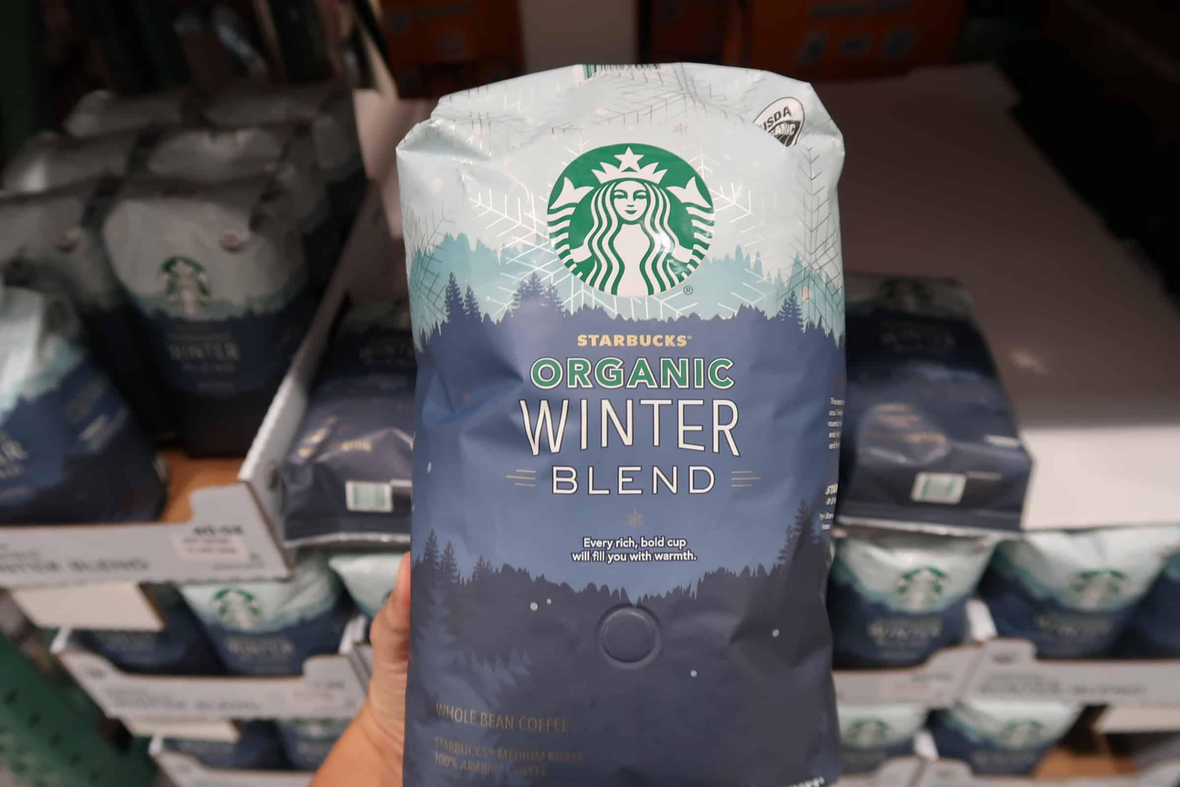 Starbucks Organic Winter Blend at Costco