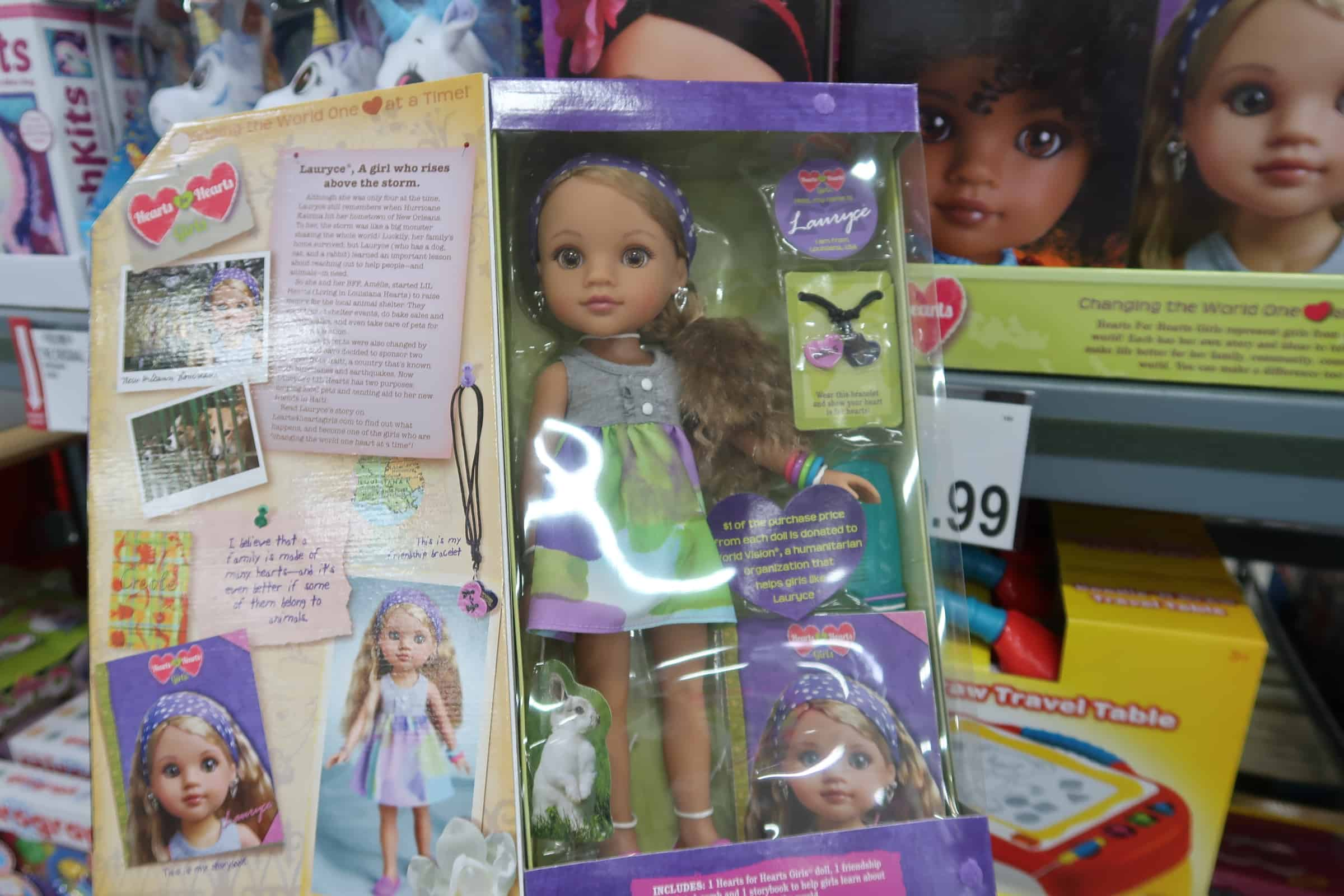 Hearts For Hearts Dolls Available at BJs