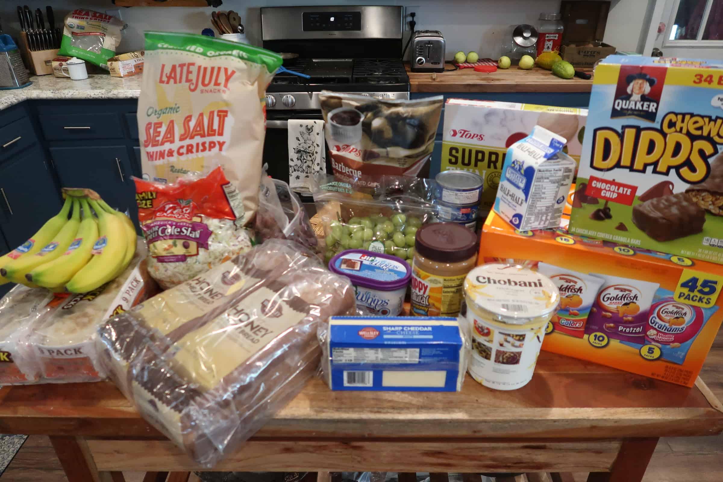 My Weekly $60 Grocery Trip & Menu