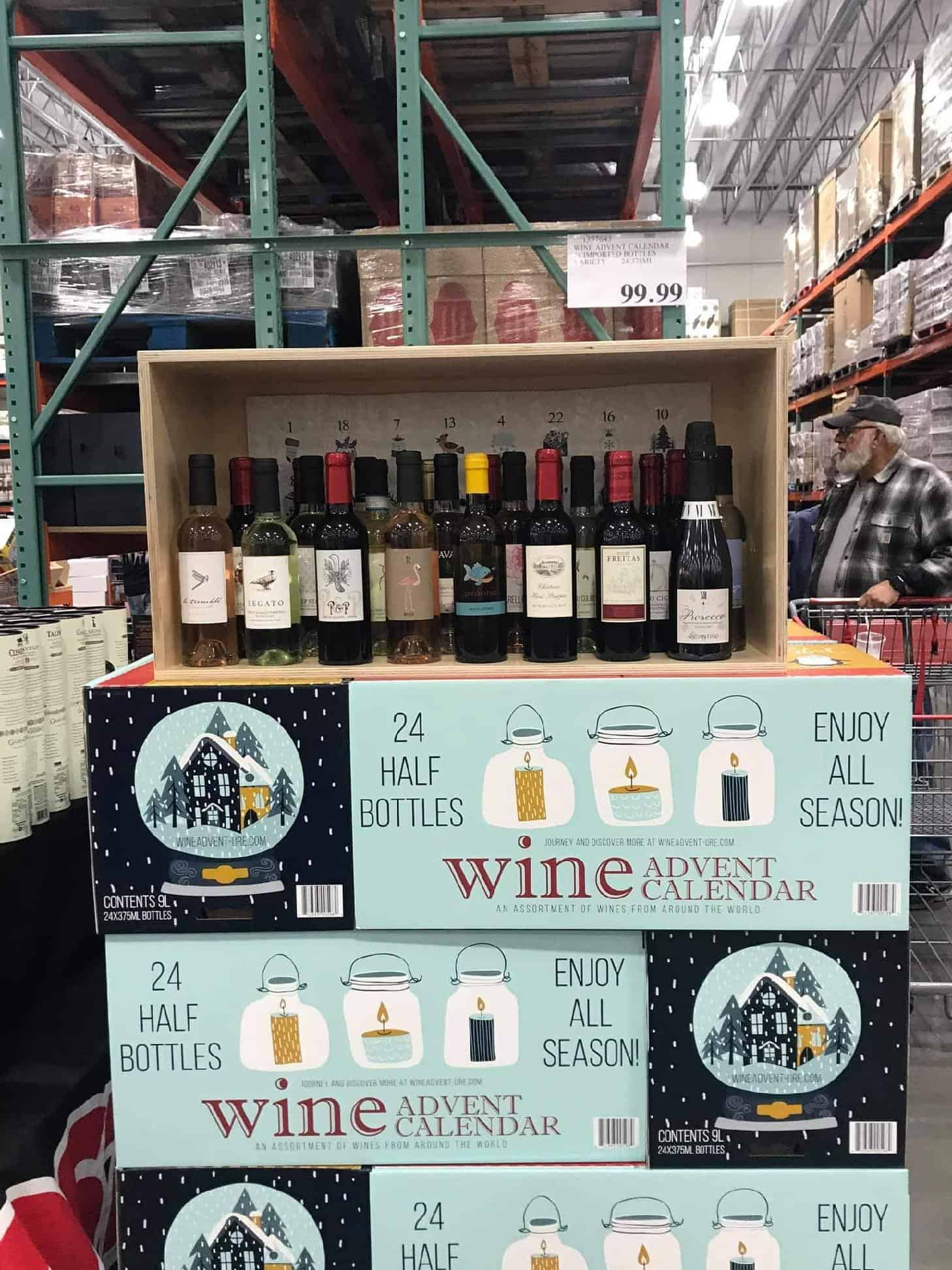 Everyone Needs a Wine Advent From Costco!