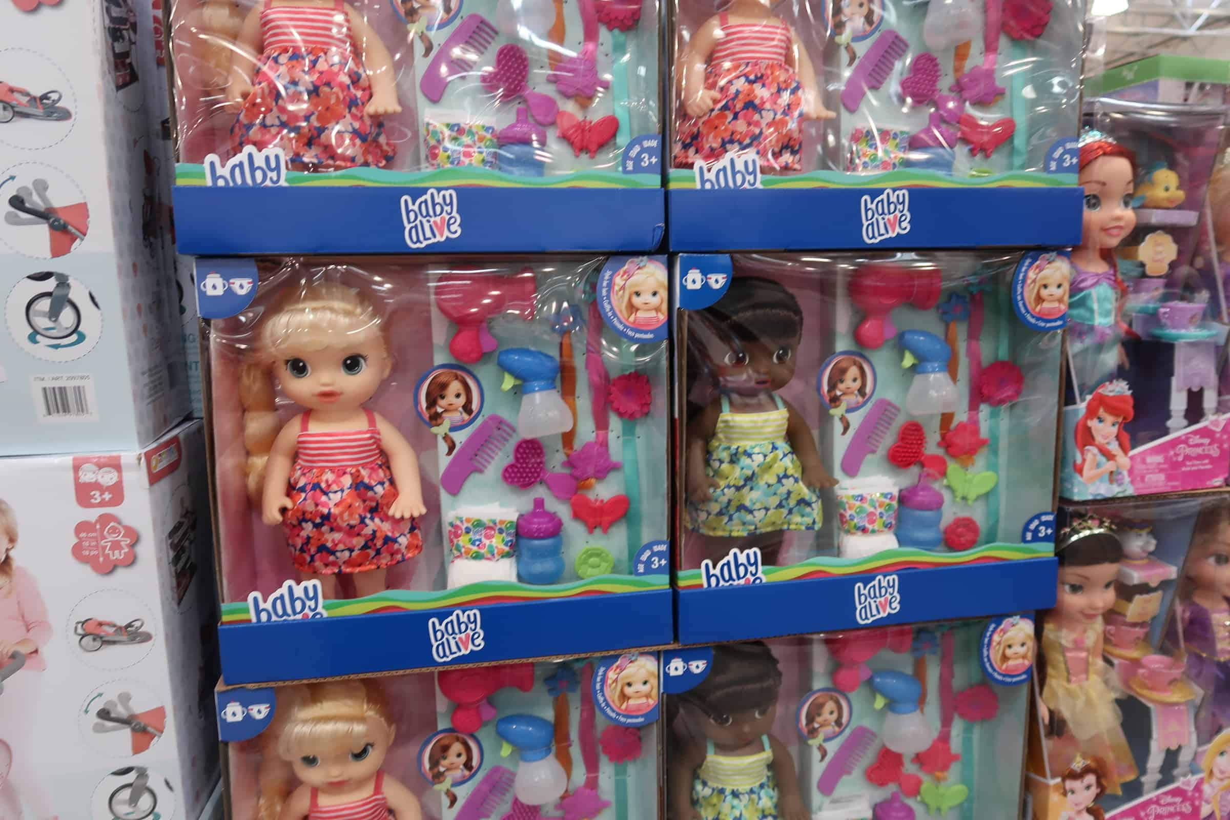 Baby Alive Cute Hairstyles Dolls at Costco $20