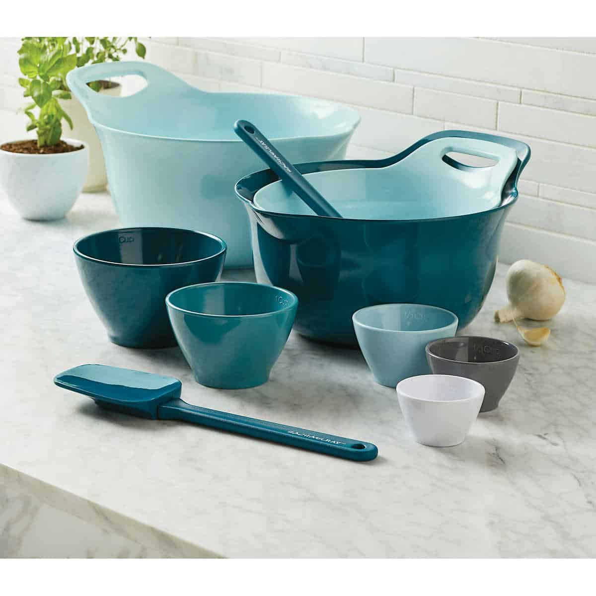 Rachael Ray 10-piece Mixing Bowl Set $47.99