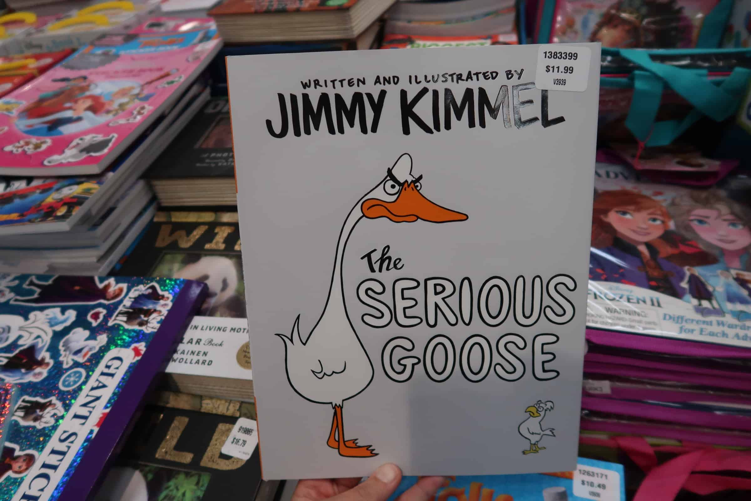 Jimmy Kimmel's Book The Serious Goose at Costco