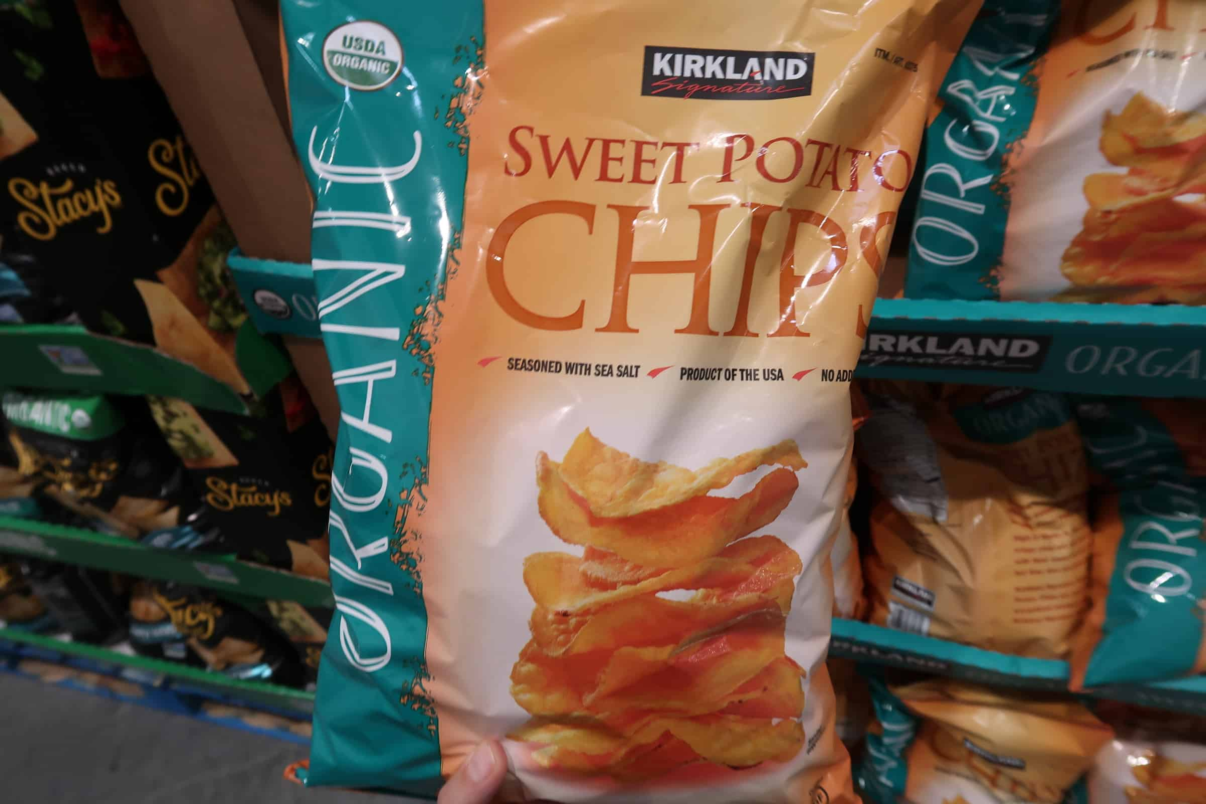 Where Have You Been All My Life Kirkland Sweet Potato Chips?