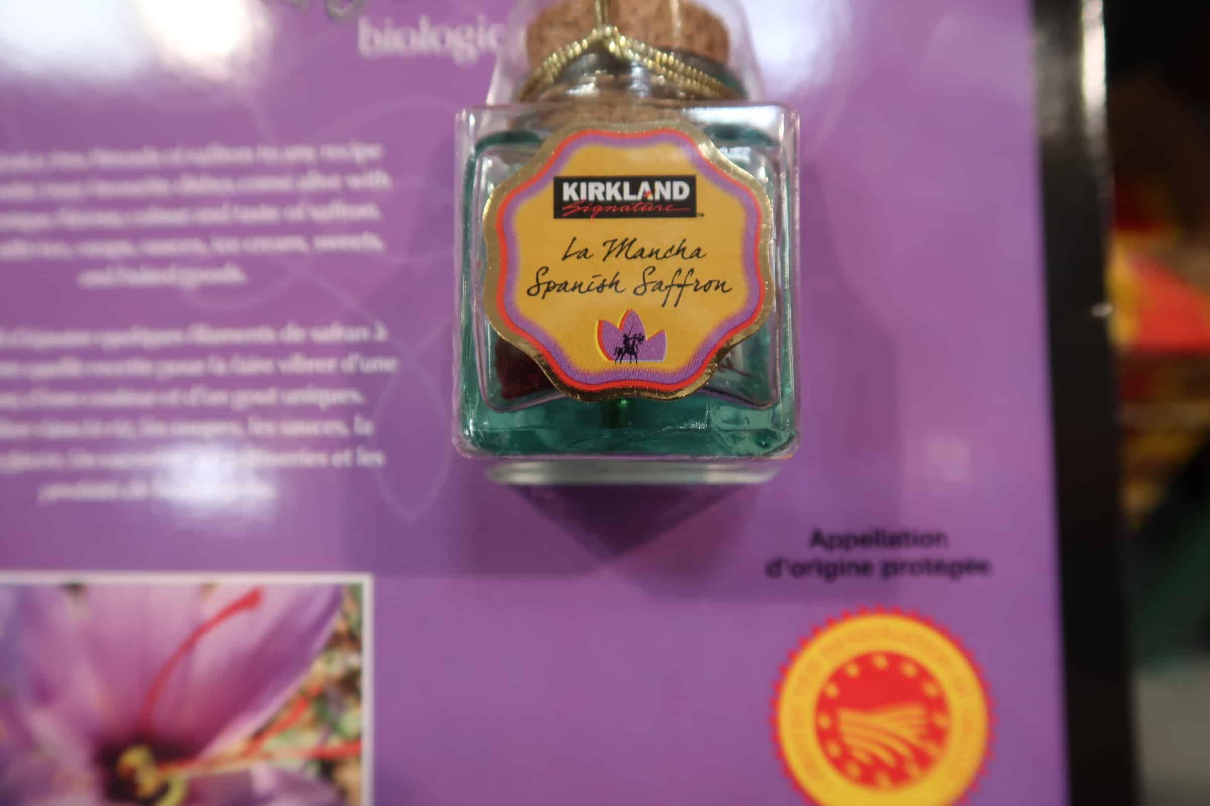 Kirkland Organic Spanish Saffron FOR SUPER Cheap!