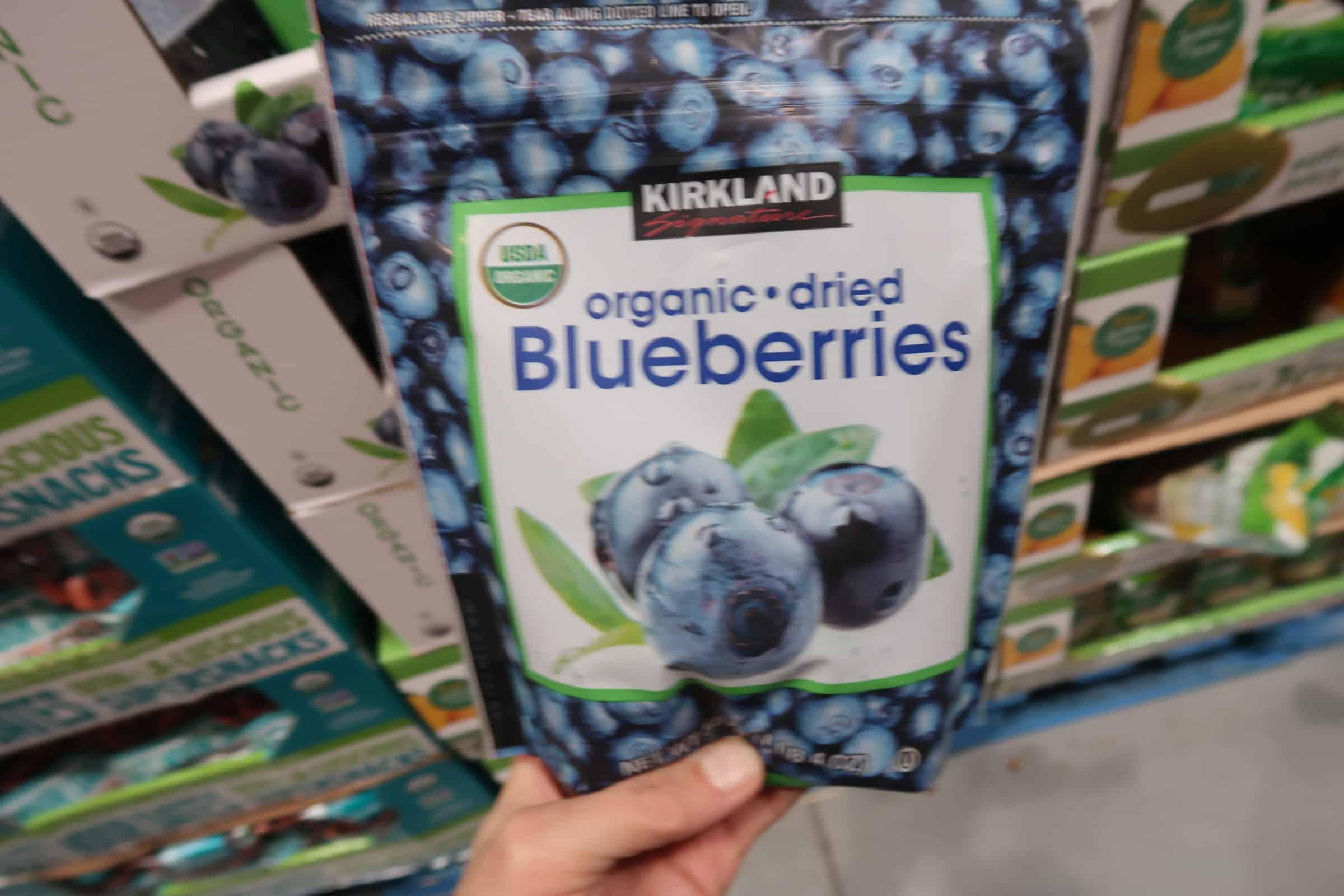 Kirkland Organic Dried Blueberries $4.97