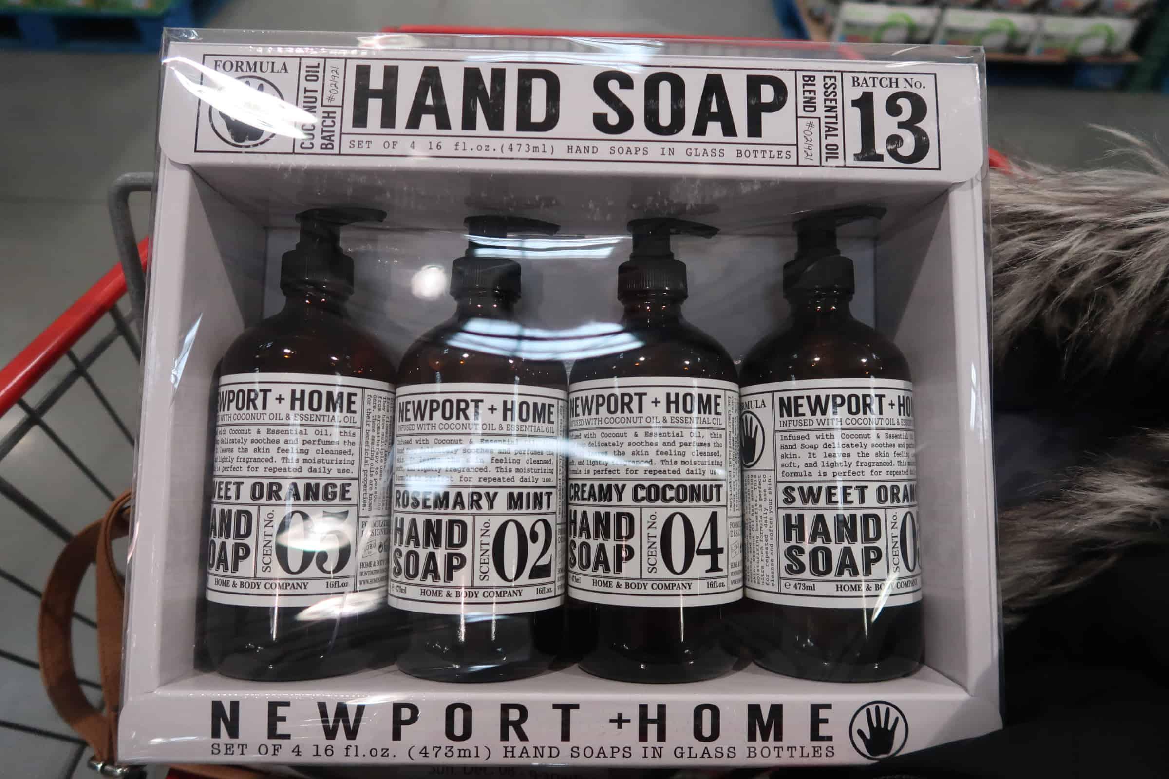 Newport +Home Glass Hand Soap 4 pk. $9.99