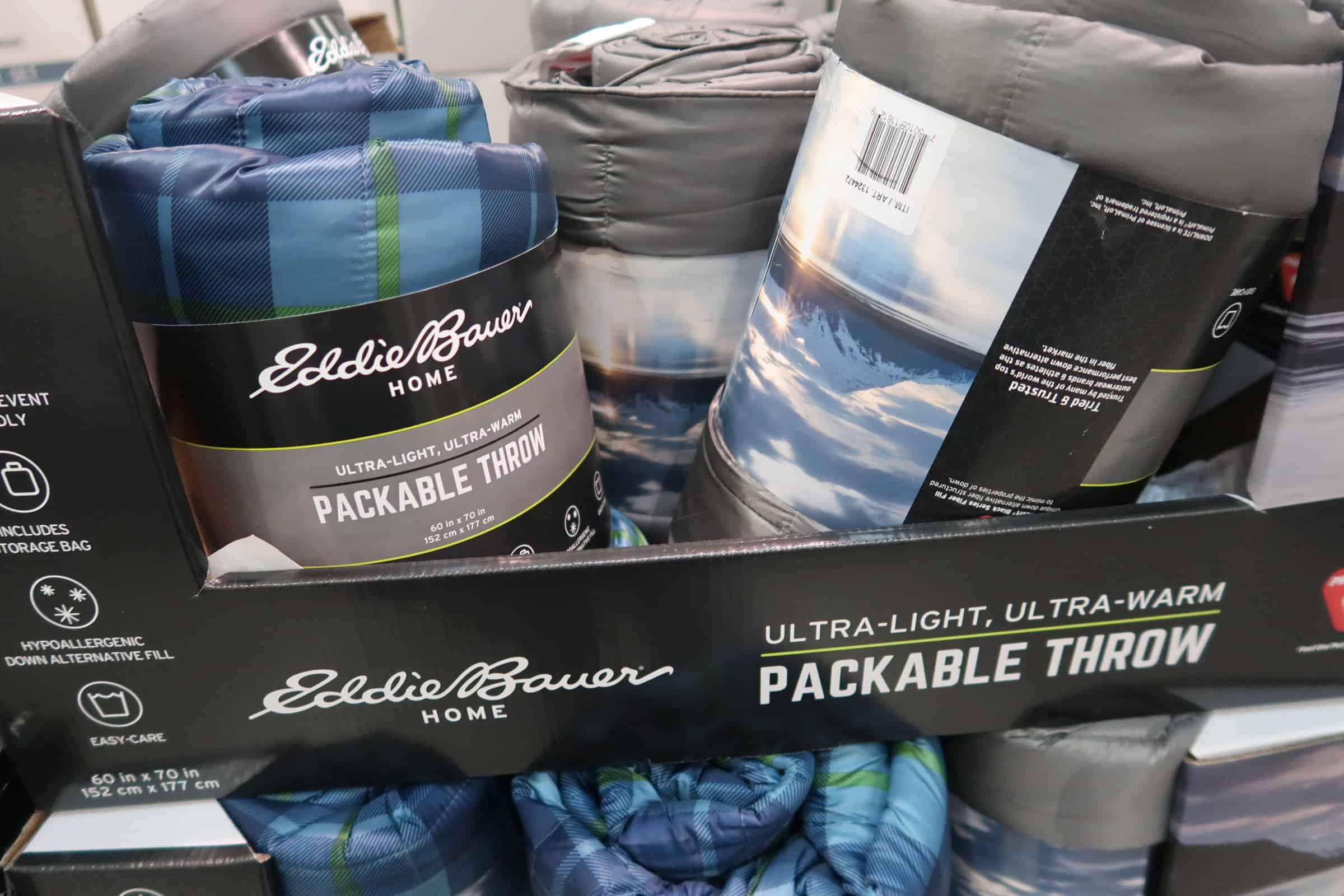 Clearance Eddie Bauer Packable Throw at Costco