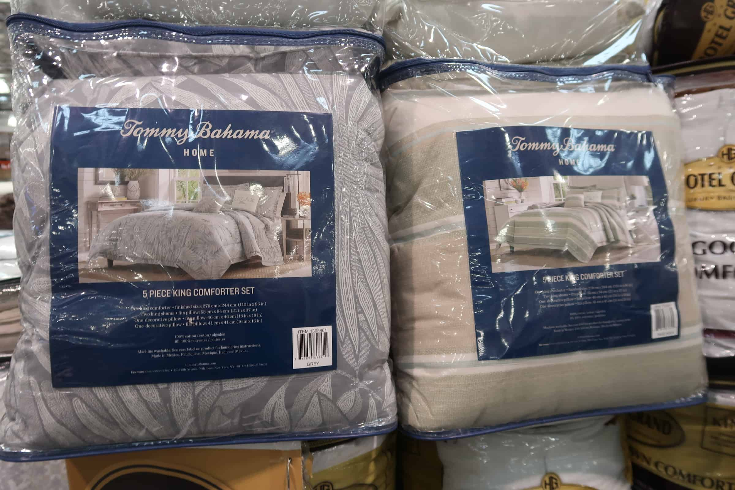 Tommy Bahama 5 Pc. Comforter Set King $59.97