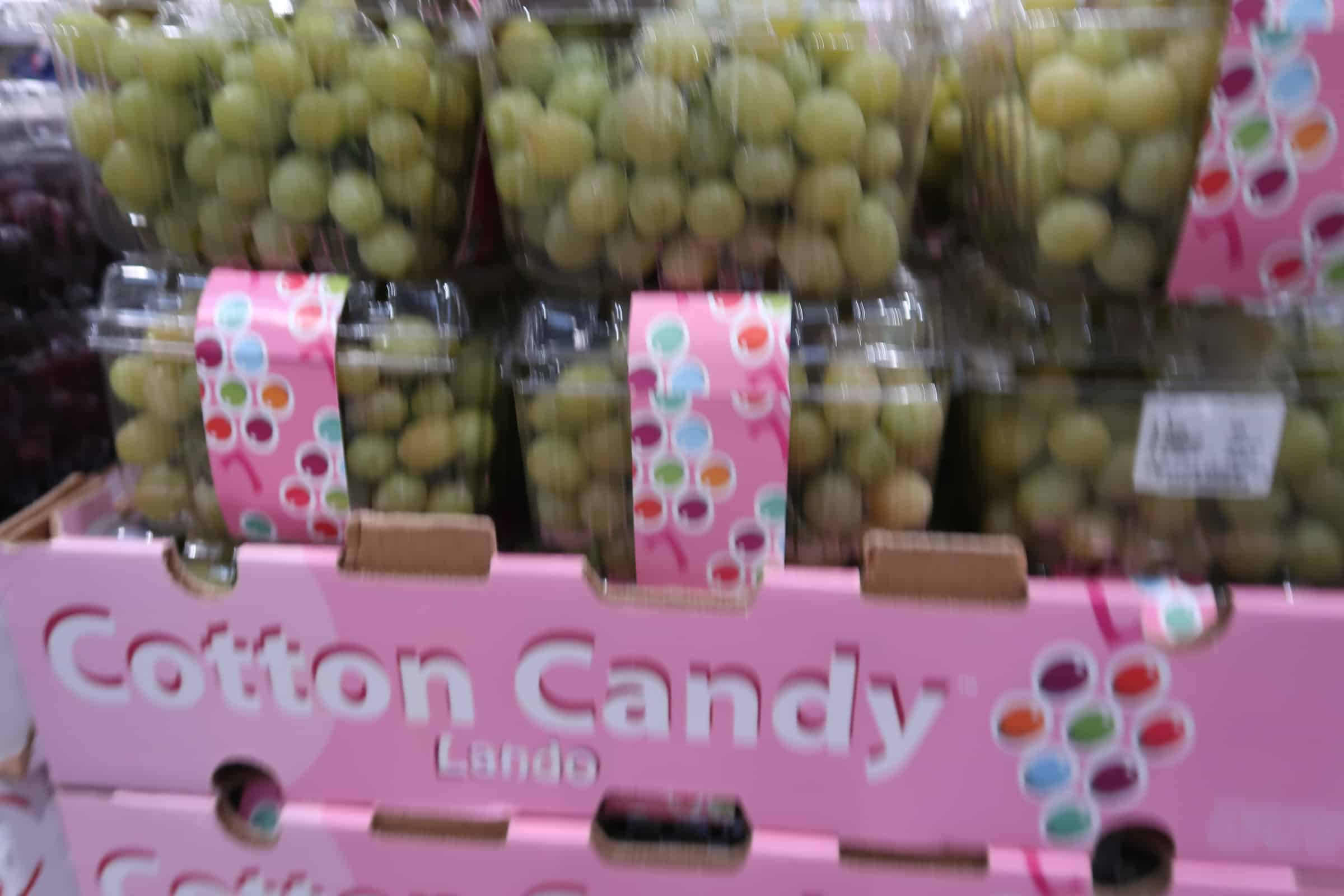 Cotton Candy Grapes Back at Costco