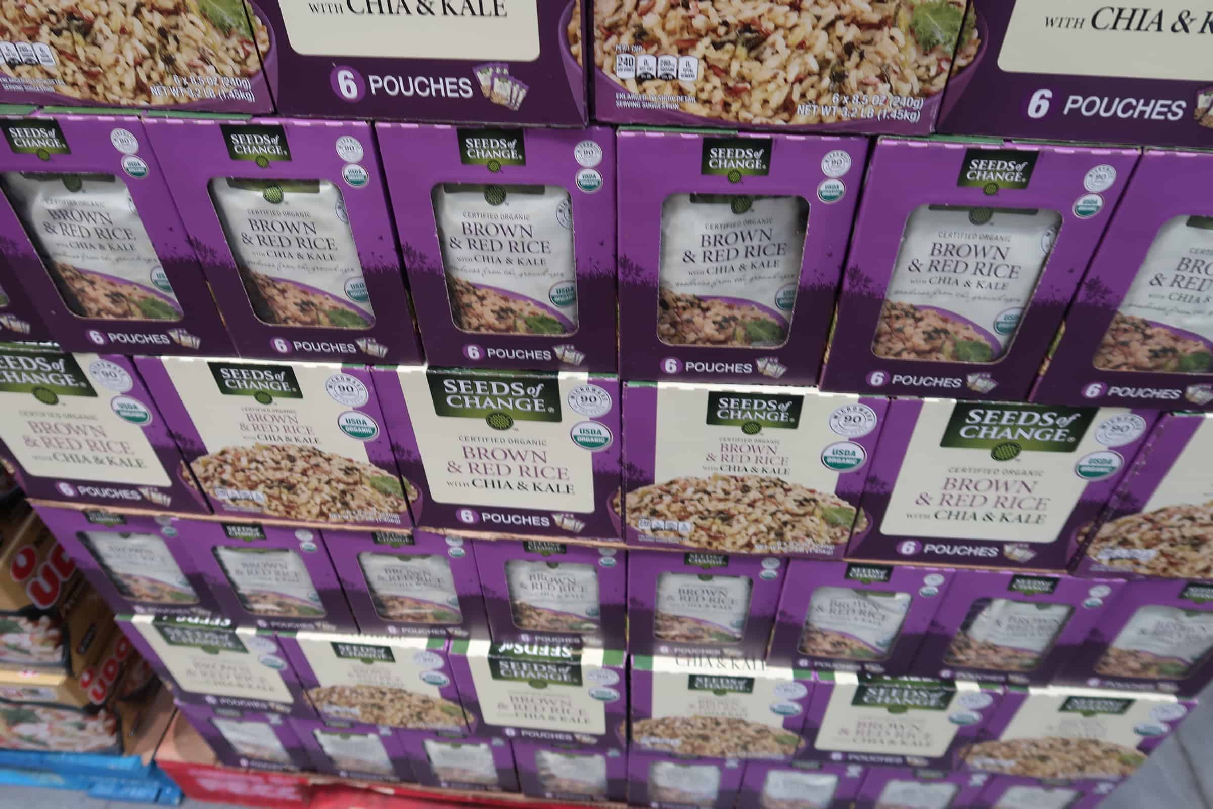 Seeds of Change Rice ONLY $7.99 at Costco ( 6 Pack)