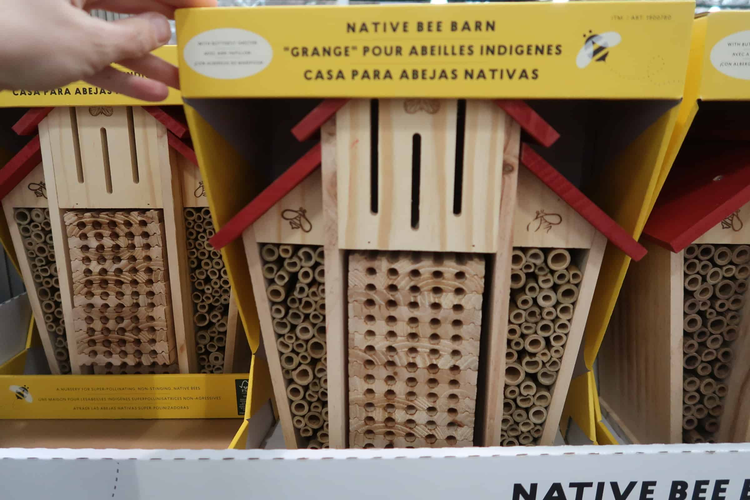 Native Bee Barn at Costco ONLY $23.99