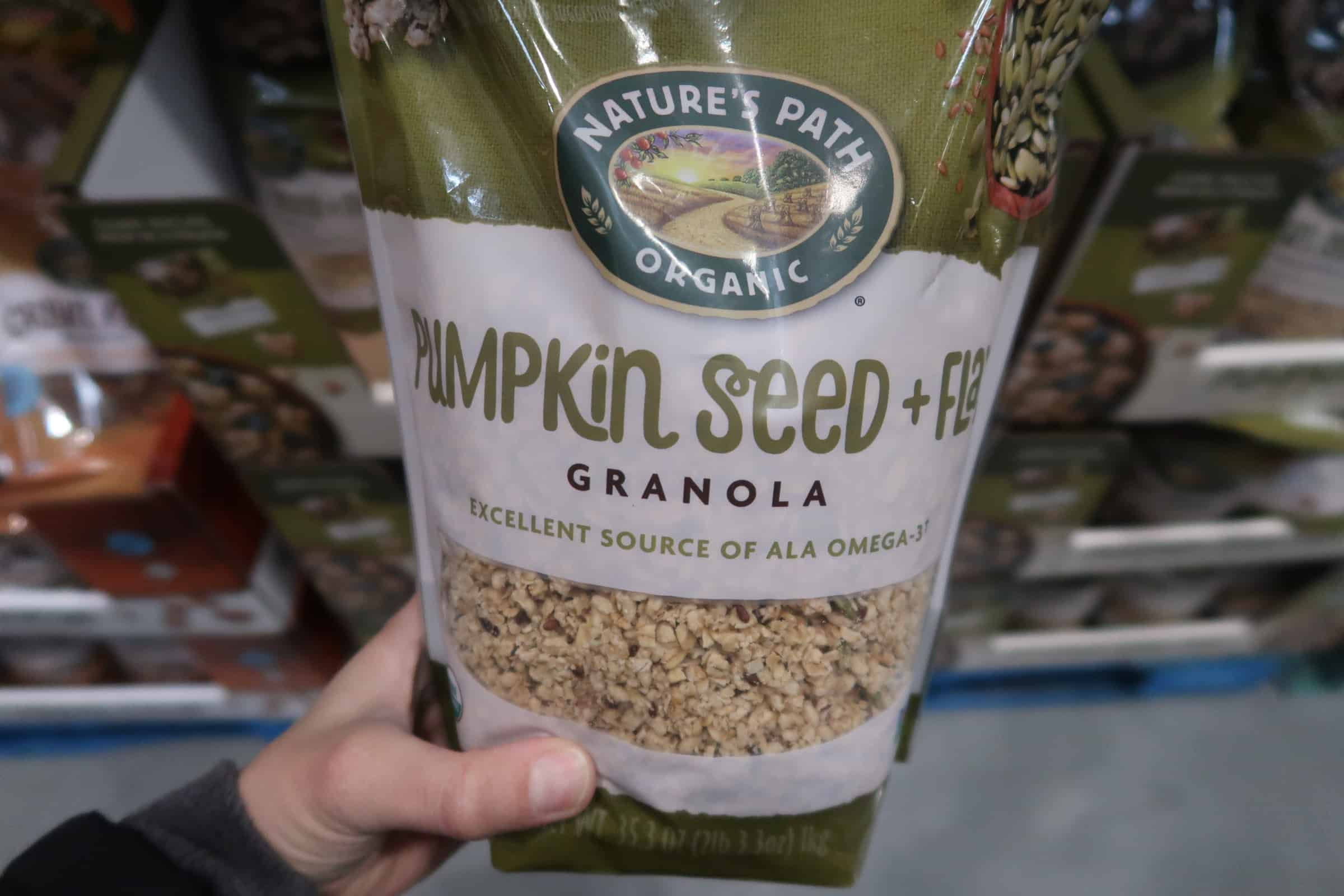 Nature's Path Organic Pumpkin Seed Granola $4.99