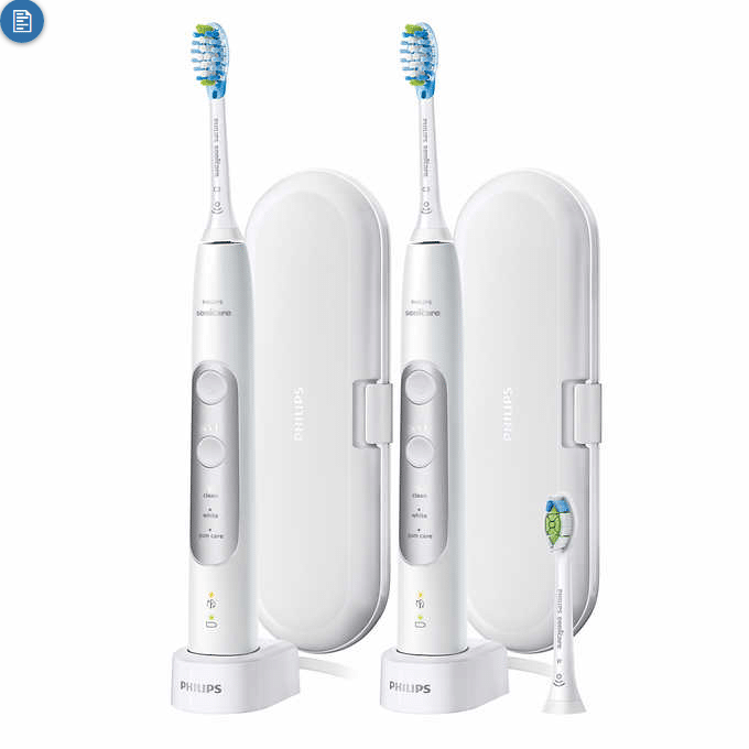 Philips Sonicare ExpertResults 7000 Twin Pack $119