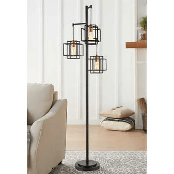 3 Arm Floor Lamp $89.99
