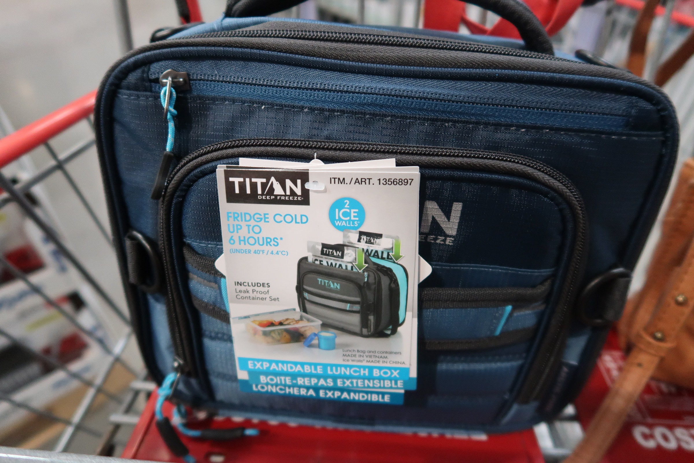 Costco Titan Lunchboxes ONLY $9.99