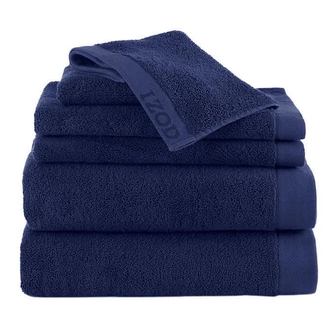 IZOD Classic 6pc Towel Set $34.99
