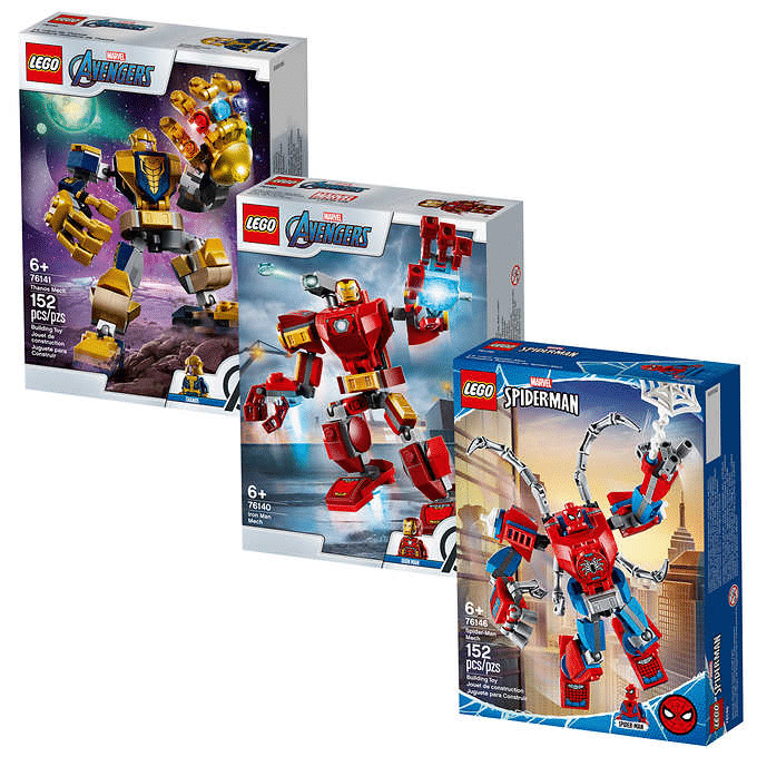 Lego Super Heroes Tri-Pack $24.99