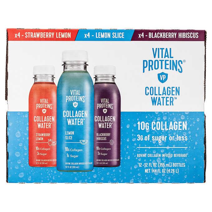 Vital Proteins Collagen Water 12oz 12pk $25.97