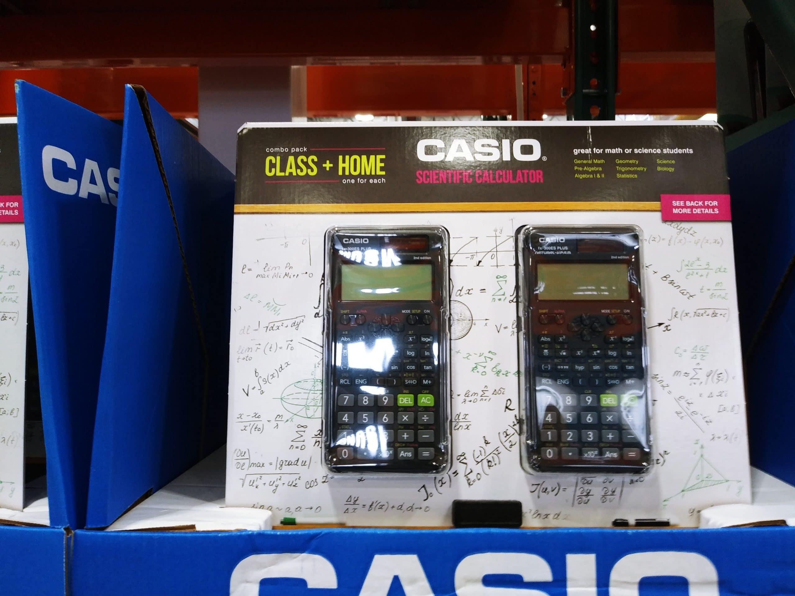 Casio Scientific Calculator 2pk $11.99