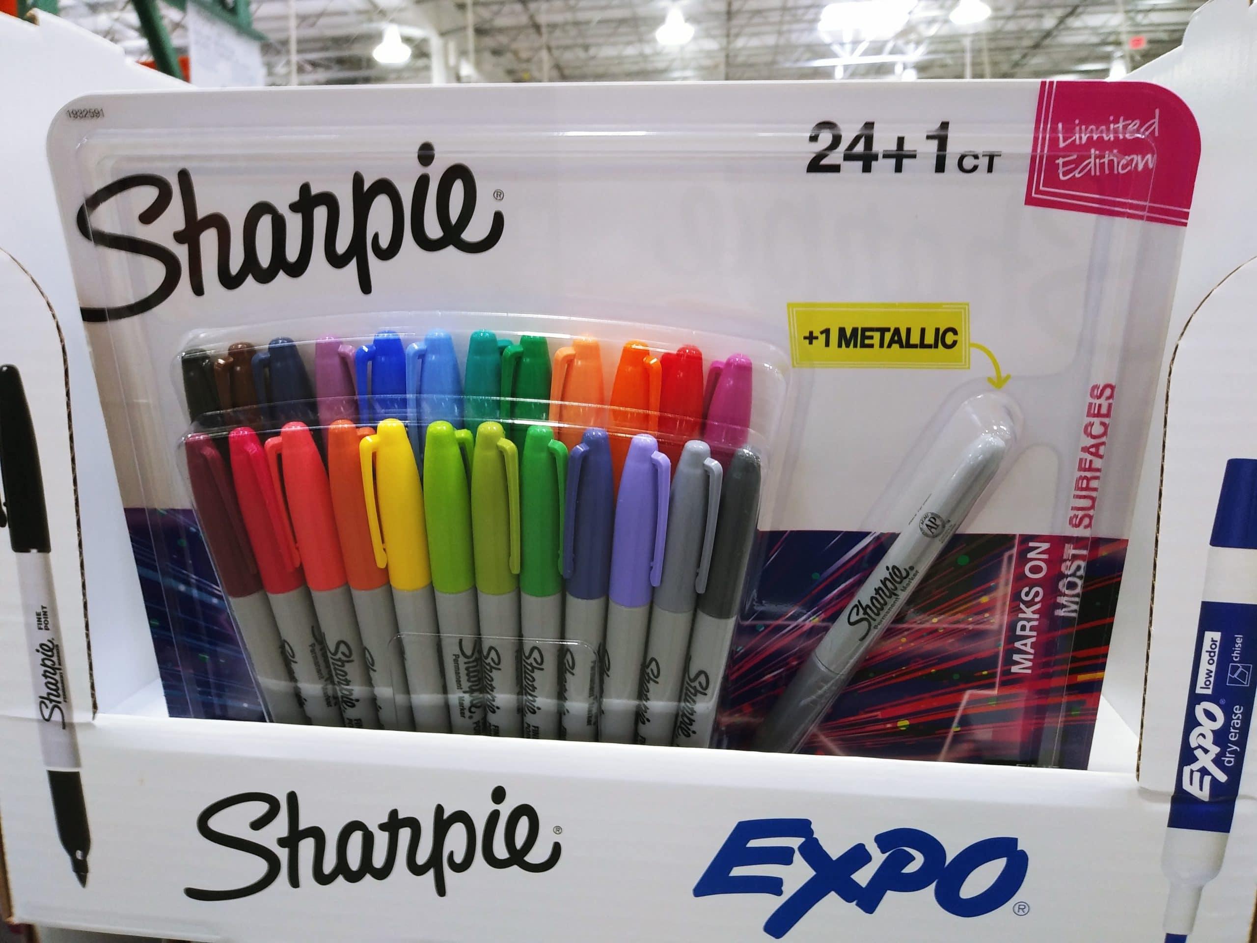 Best Permanent Markers Sharpie 25 ct $9.49