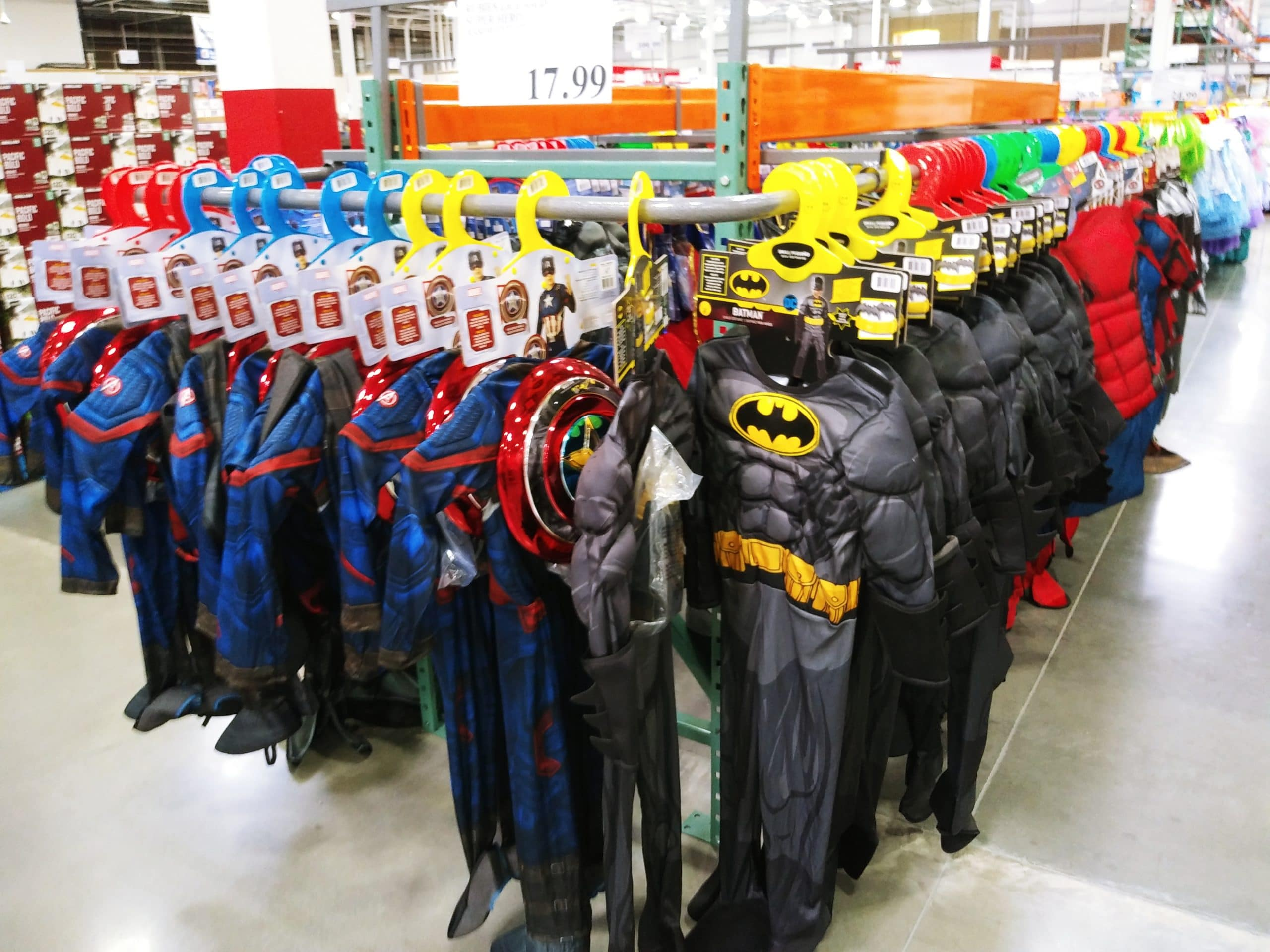 Select Halloween Costumes $18-$27 at Costco