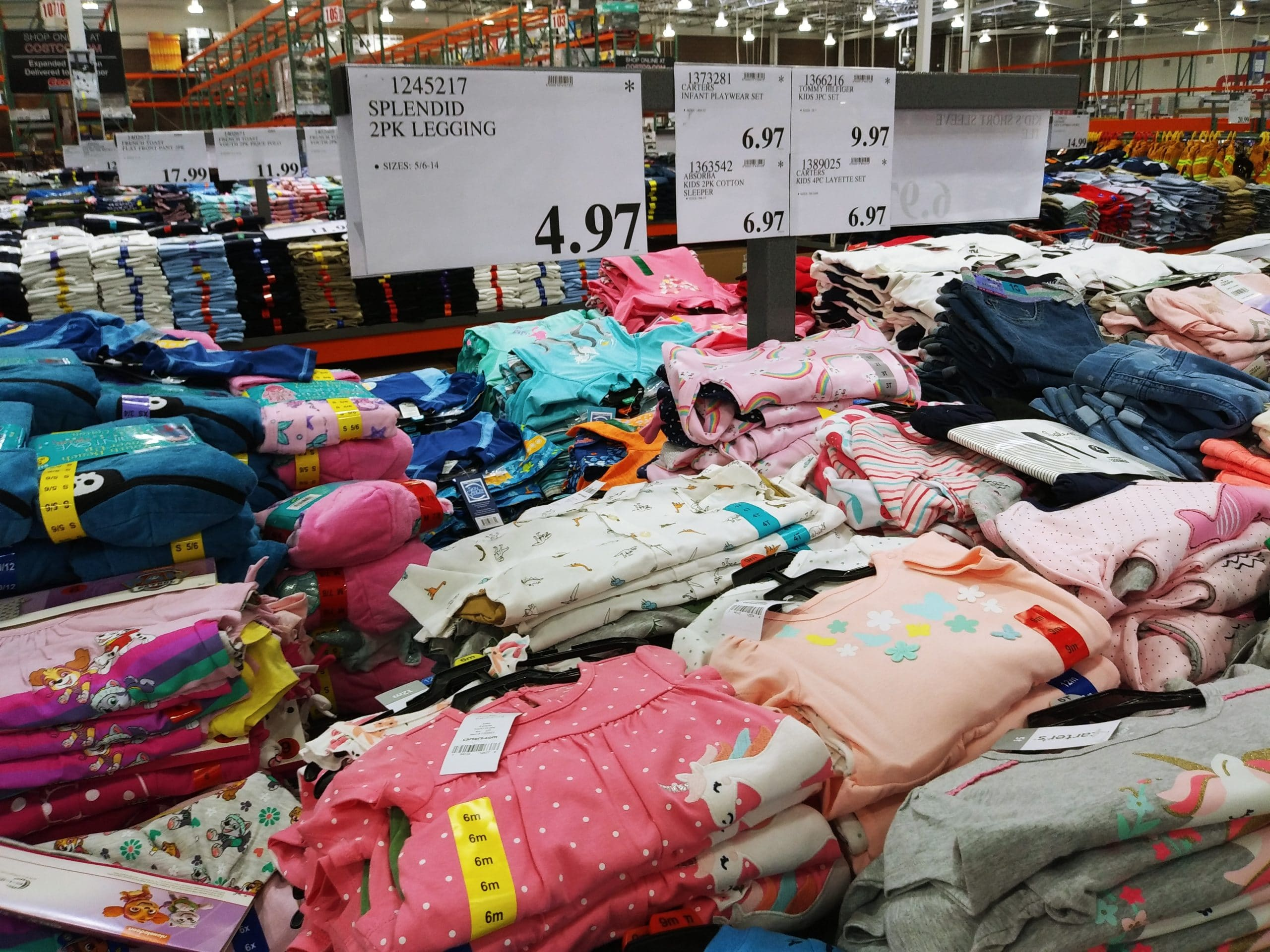 Girls Youth Clothing Under $10 at Costco