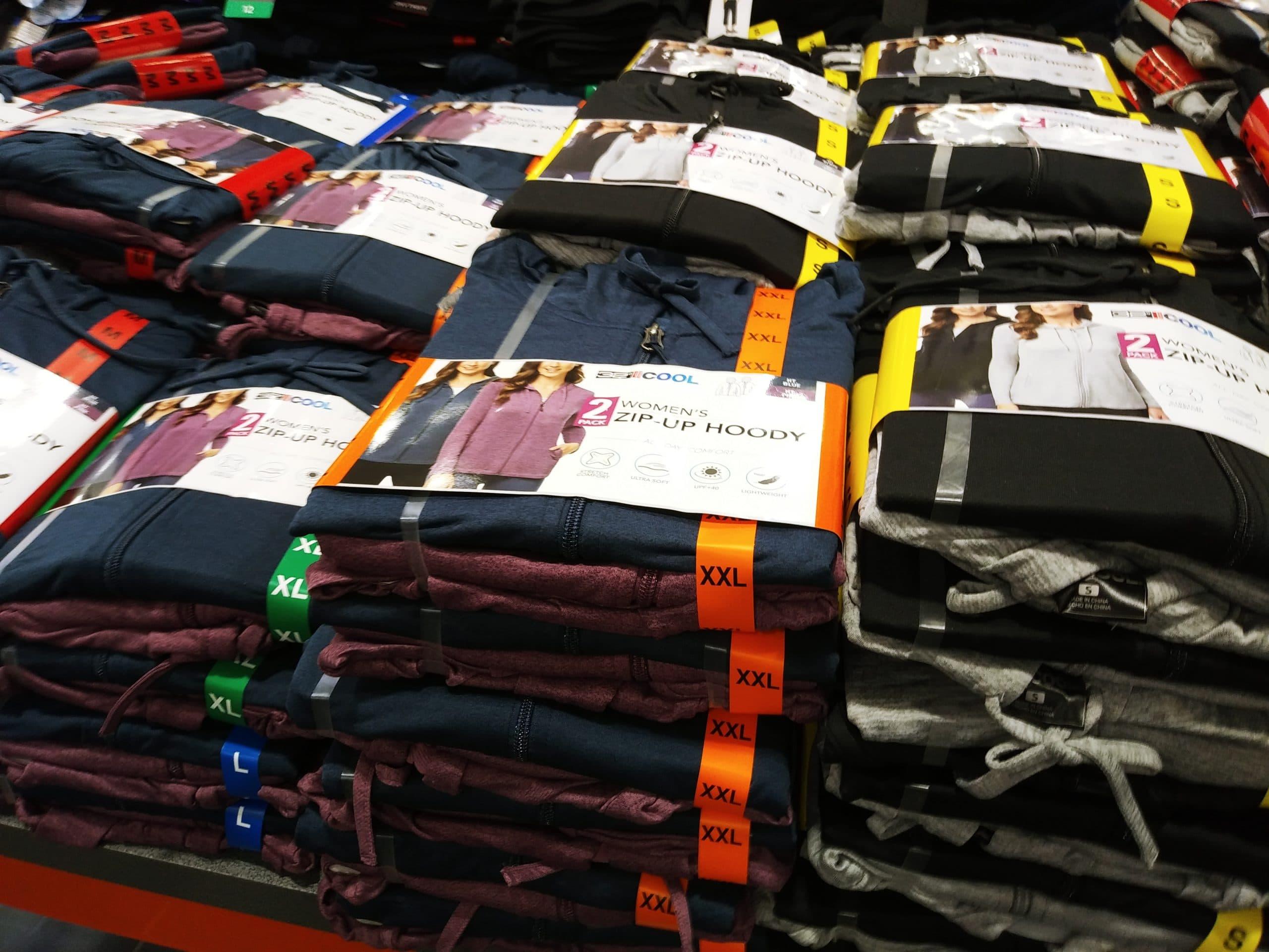BeCool 2pk Women's Zip Up Hoody $14.99