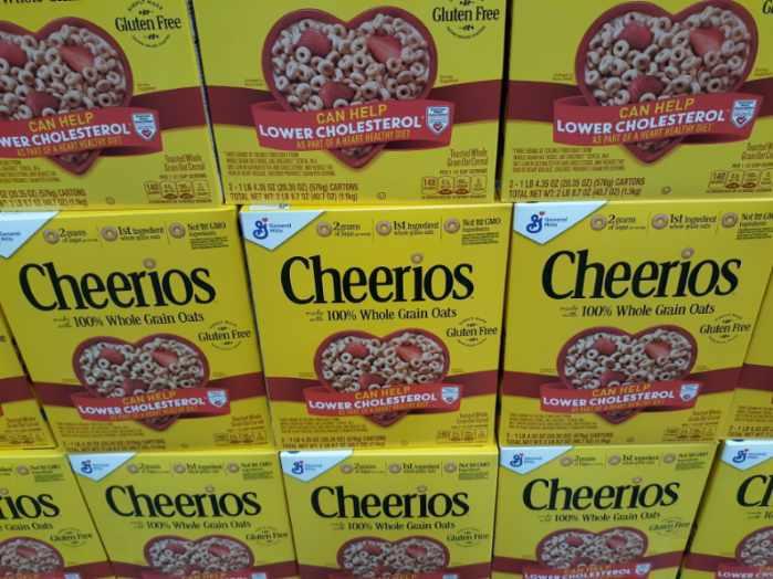Plain Cheerios 2pk $3.79