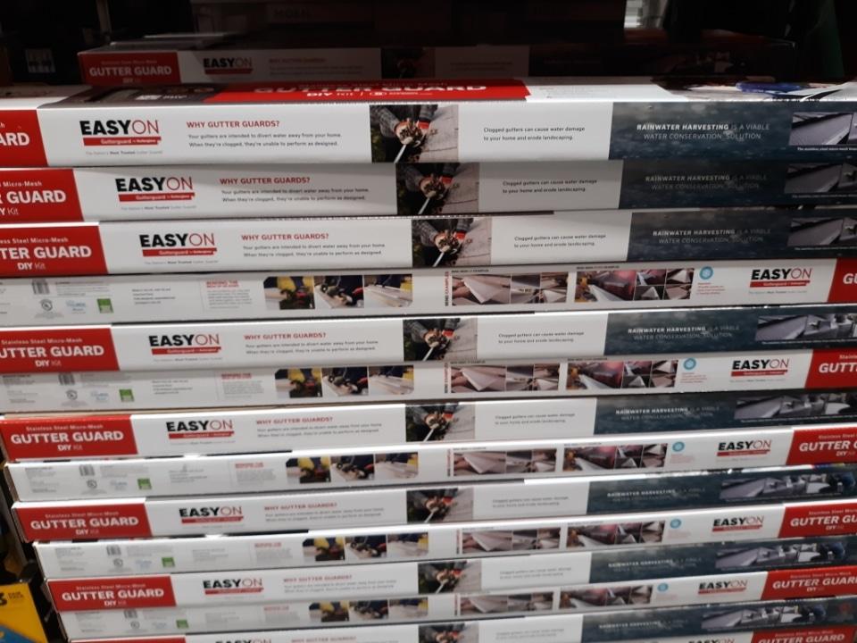 Easyon Stainless Steel 36′ Gutterguard $59.99