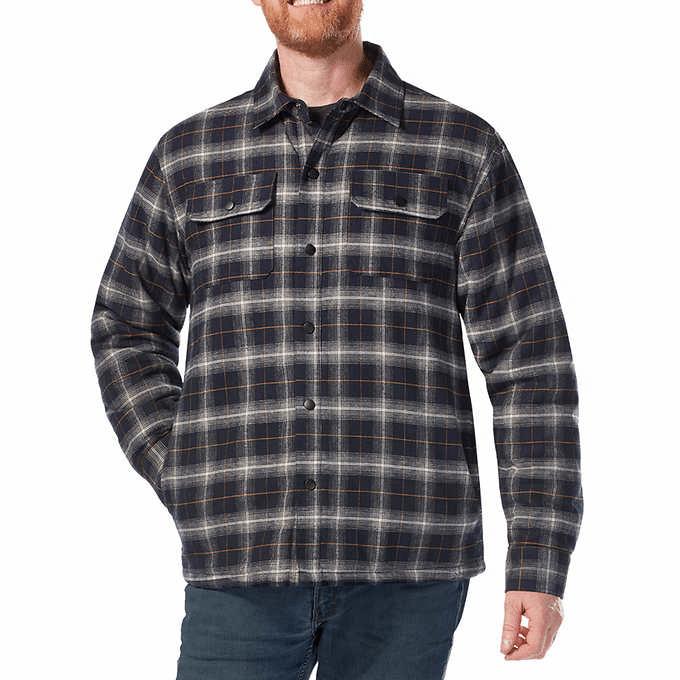 Rugged Elements Men's Flannel Shirt Jacket $19.99