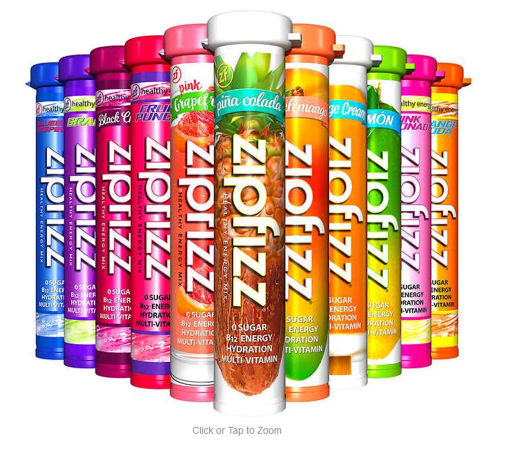 Zippfizz Healthy Energy Drink Mix 30 ct $26.99