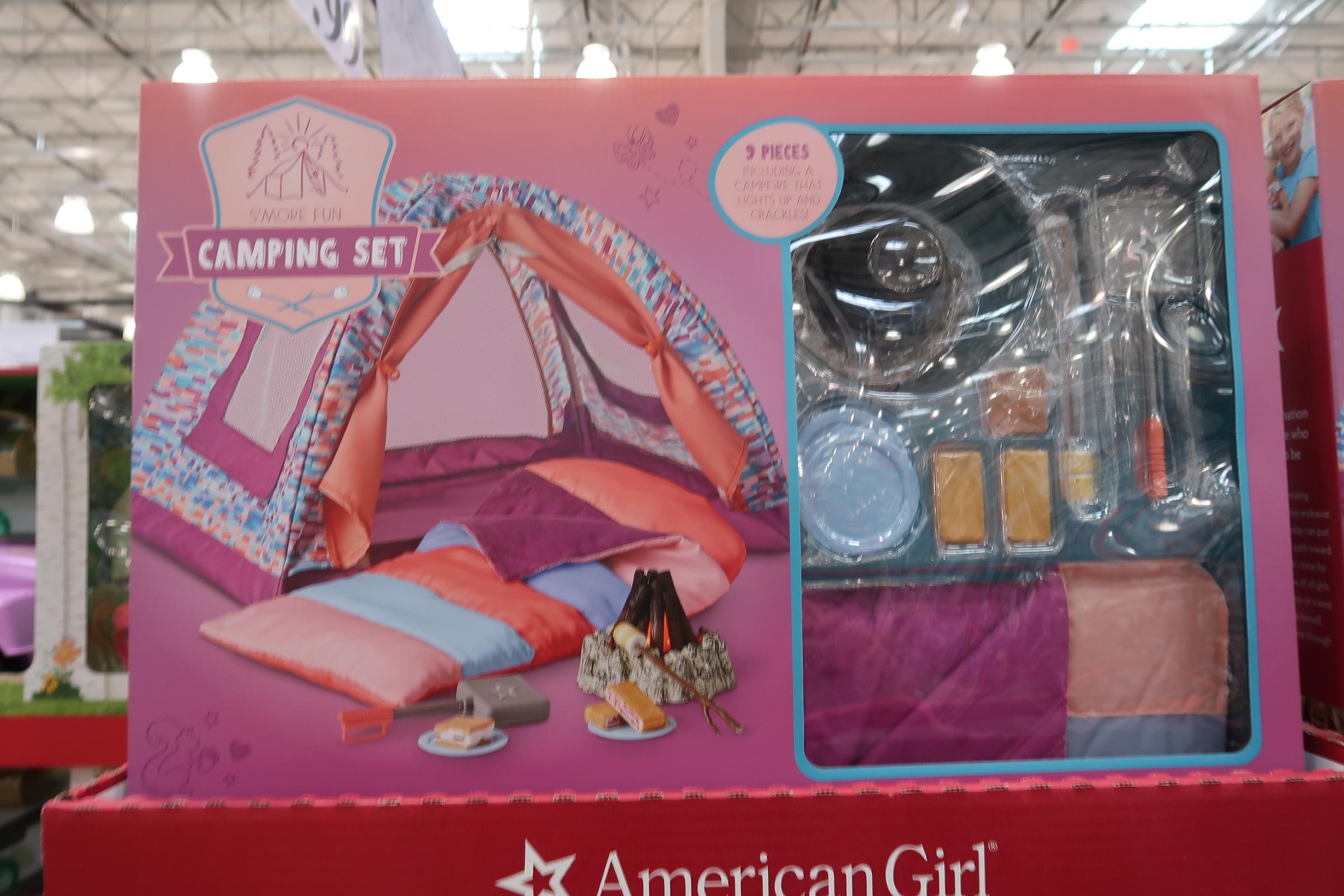 American Girl Camping Set $69.99