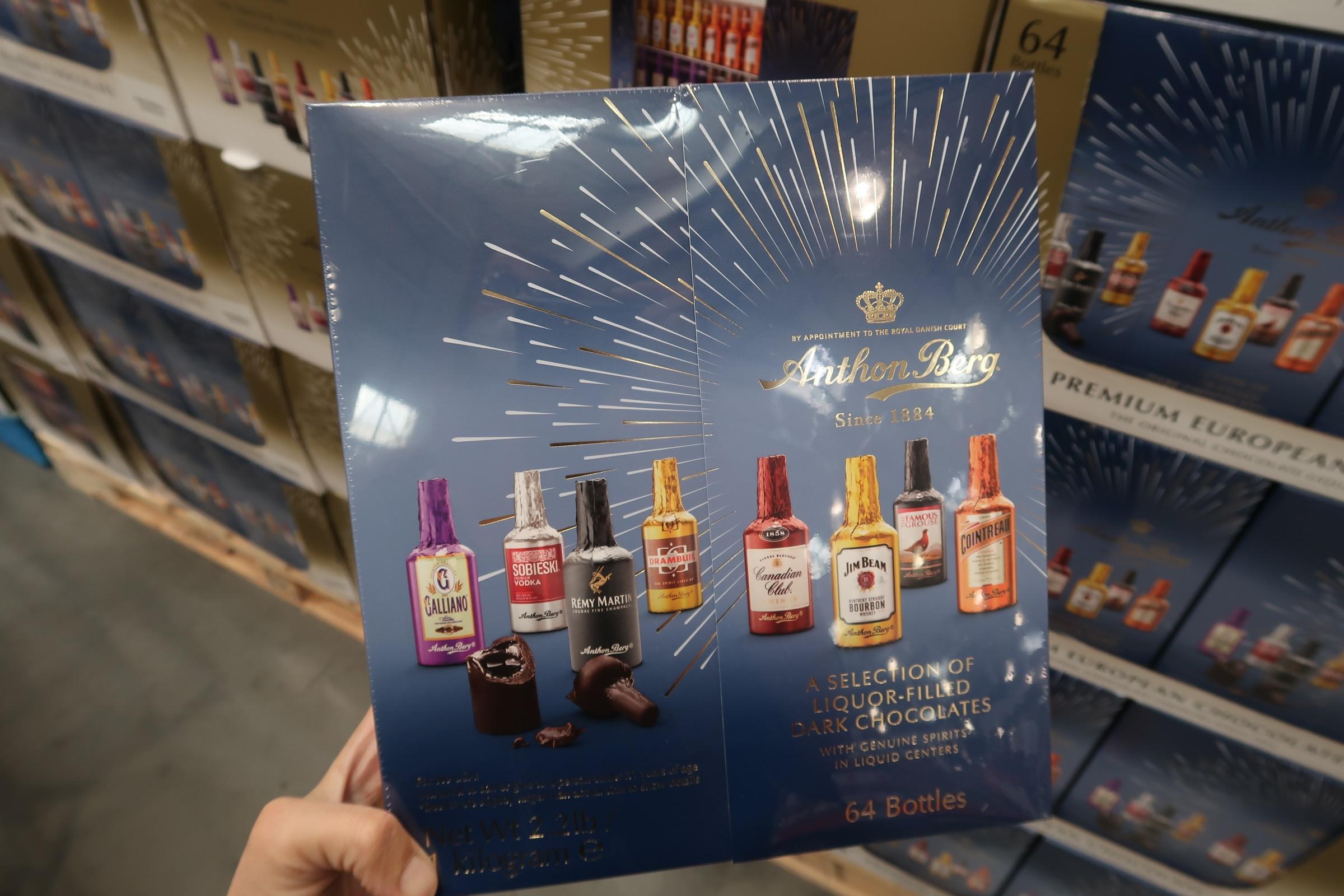 Anthony Berg European Liquor Filled Chocolates $17.59