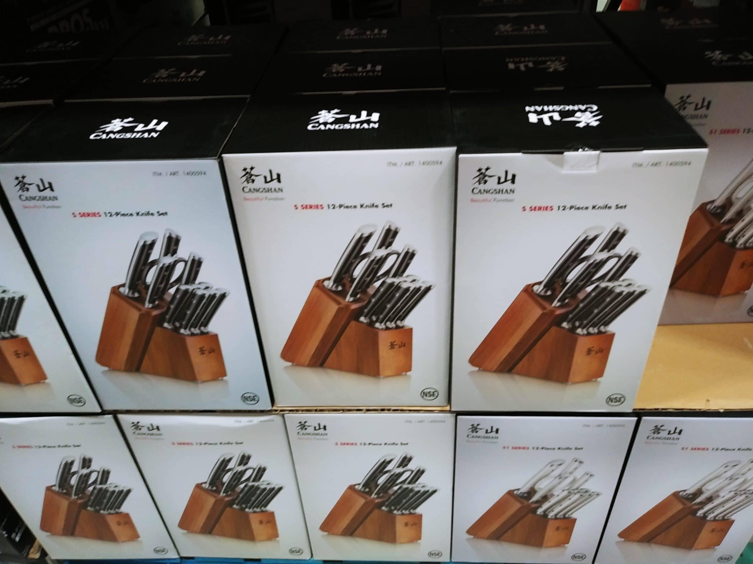 Cangshan 12pc Knife Set $99.99