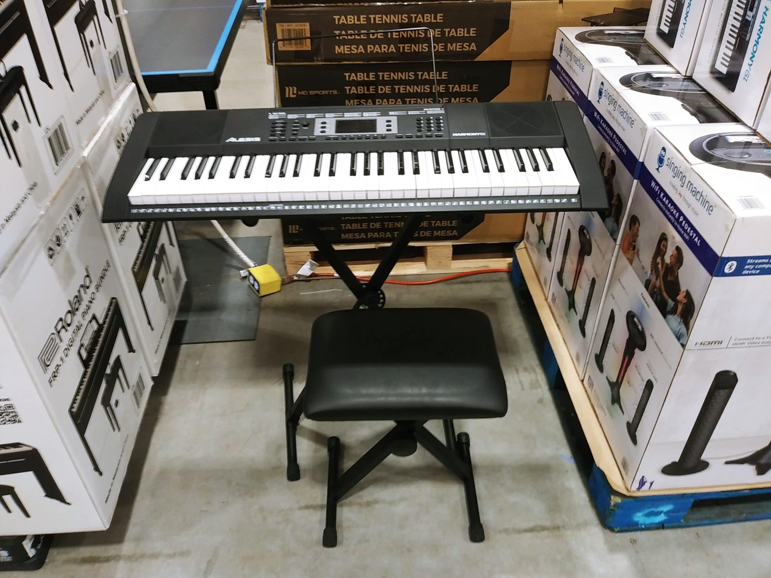 Alesis Harmony 61 MKII Portable Keyboard Bundle $99.99