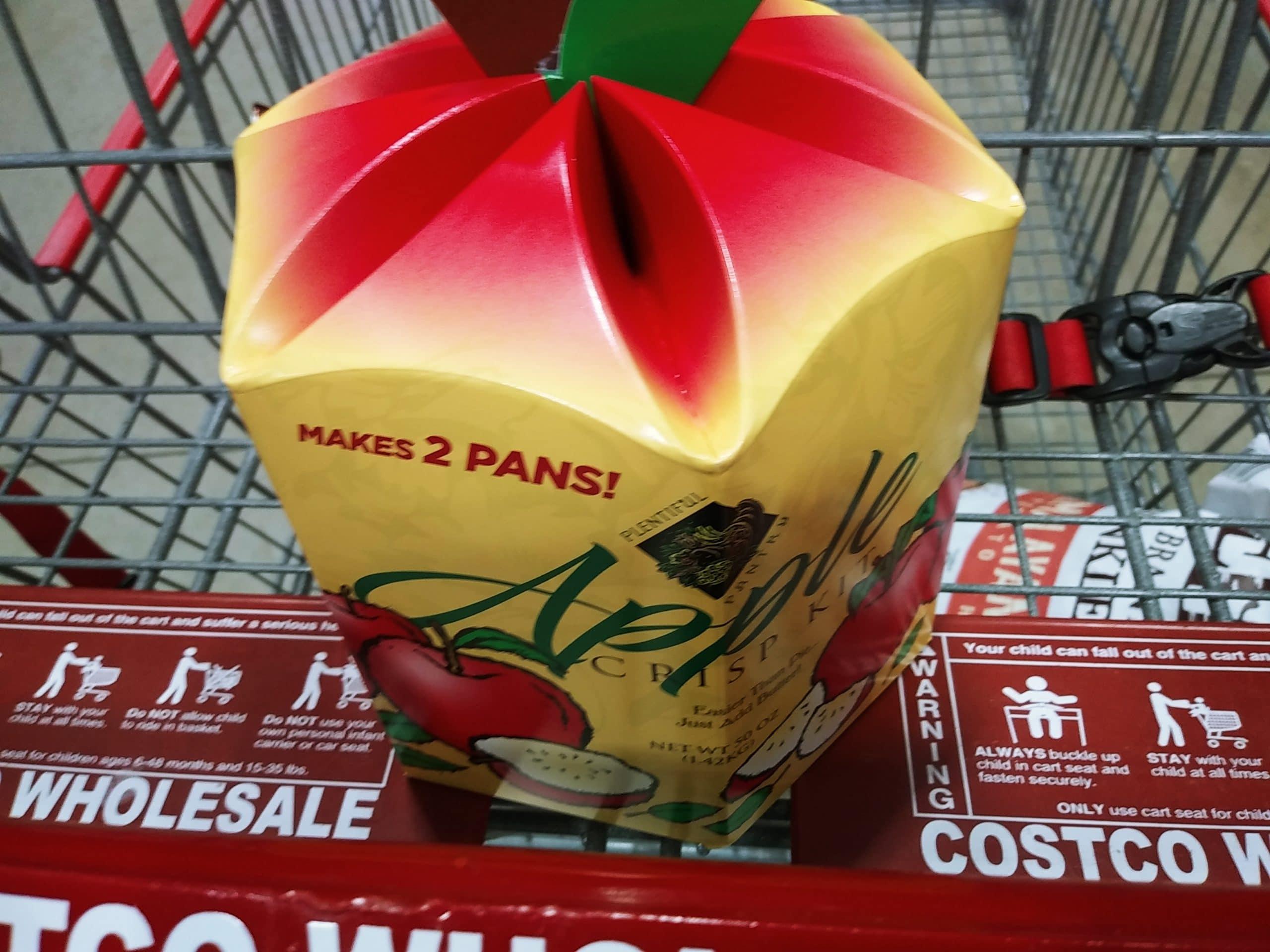 Apple Crisp 2pk Baking Kit $10.99