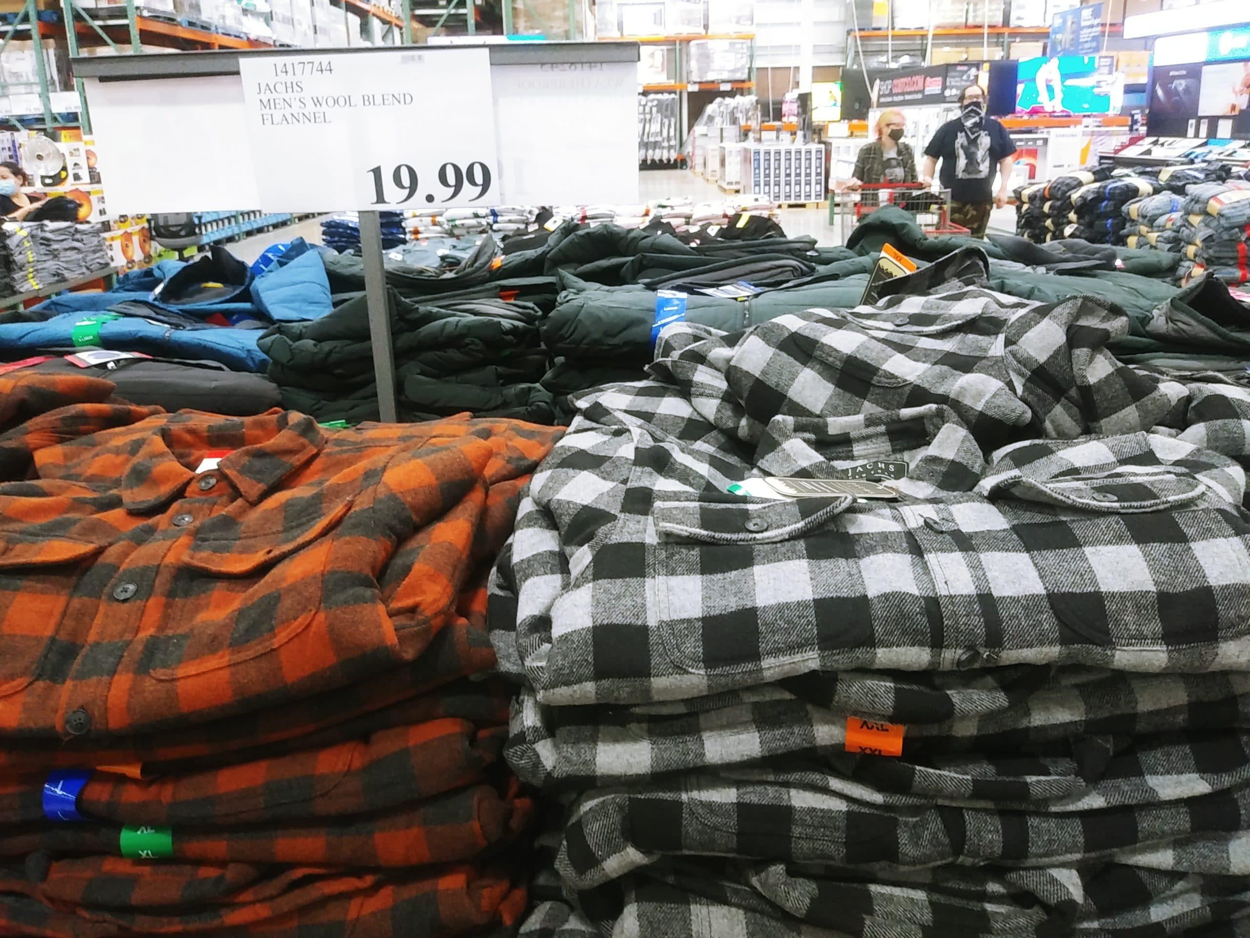 Jachs Mens Wool Blend Flannel $19.99