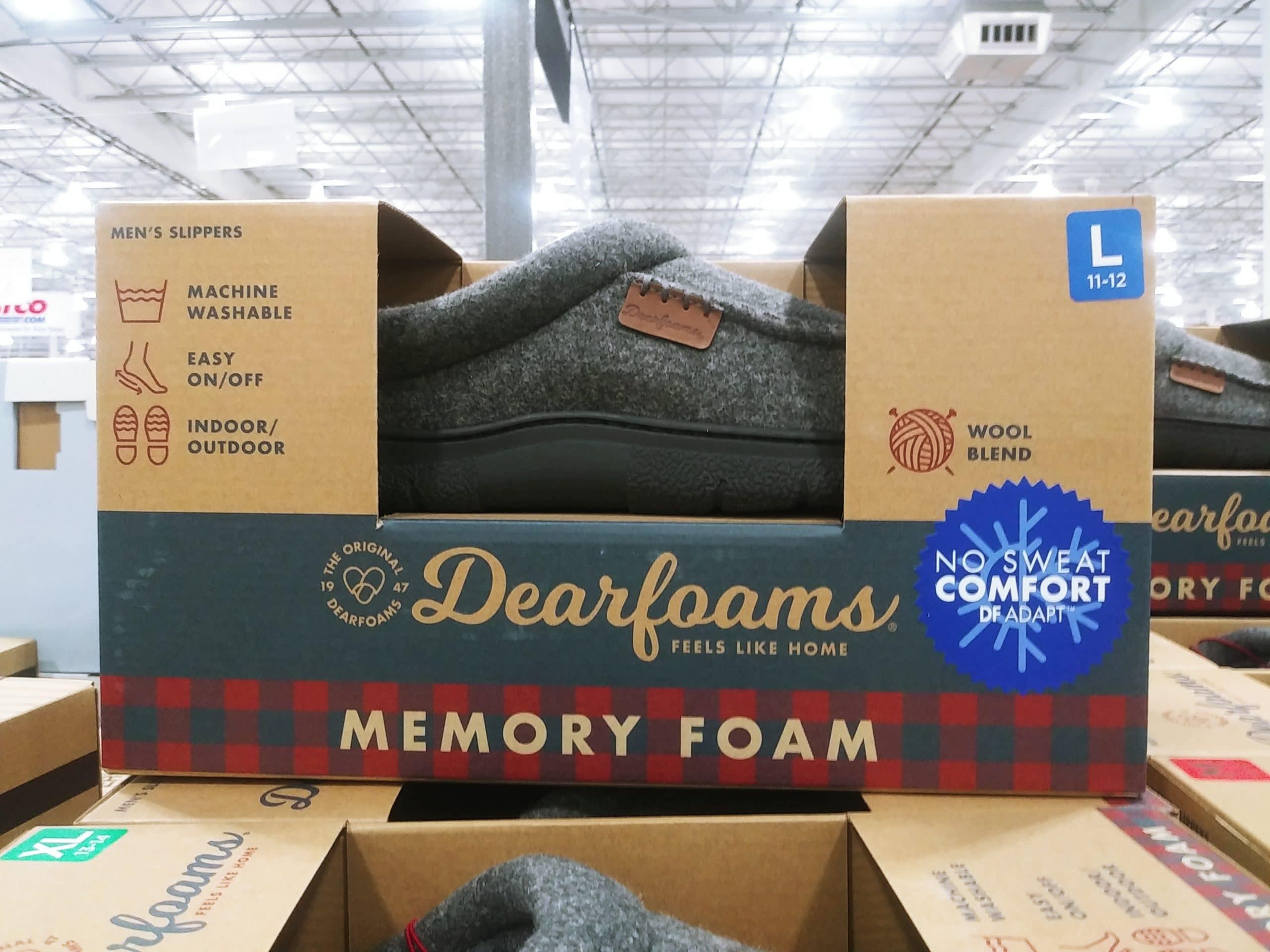 Dearfoam Mens Slippers $11.49