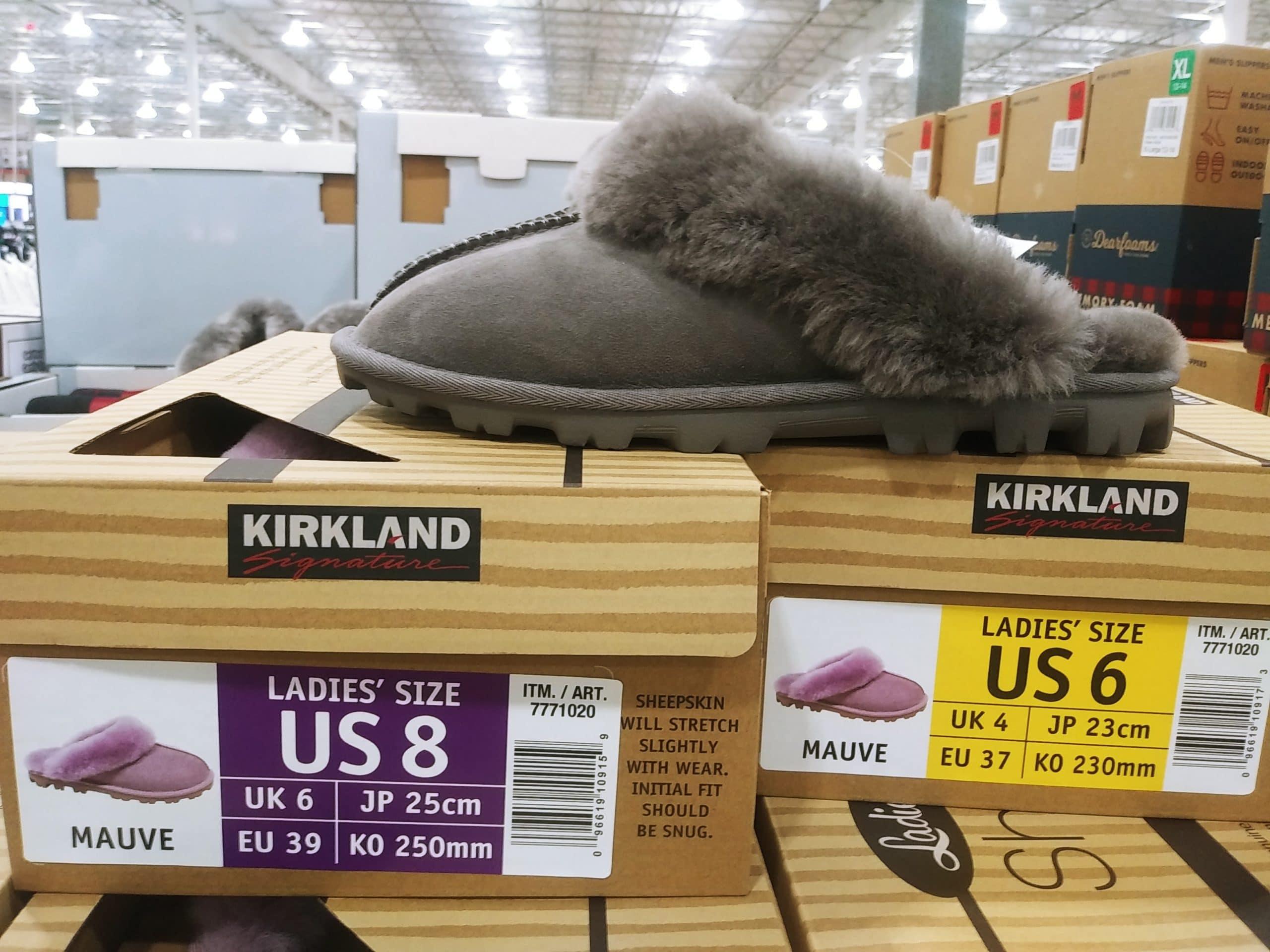 Kirkland Ladies Shearling Slip Ons $21.99