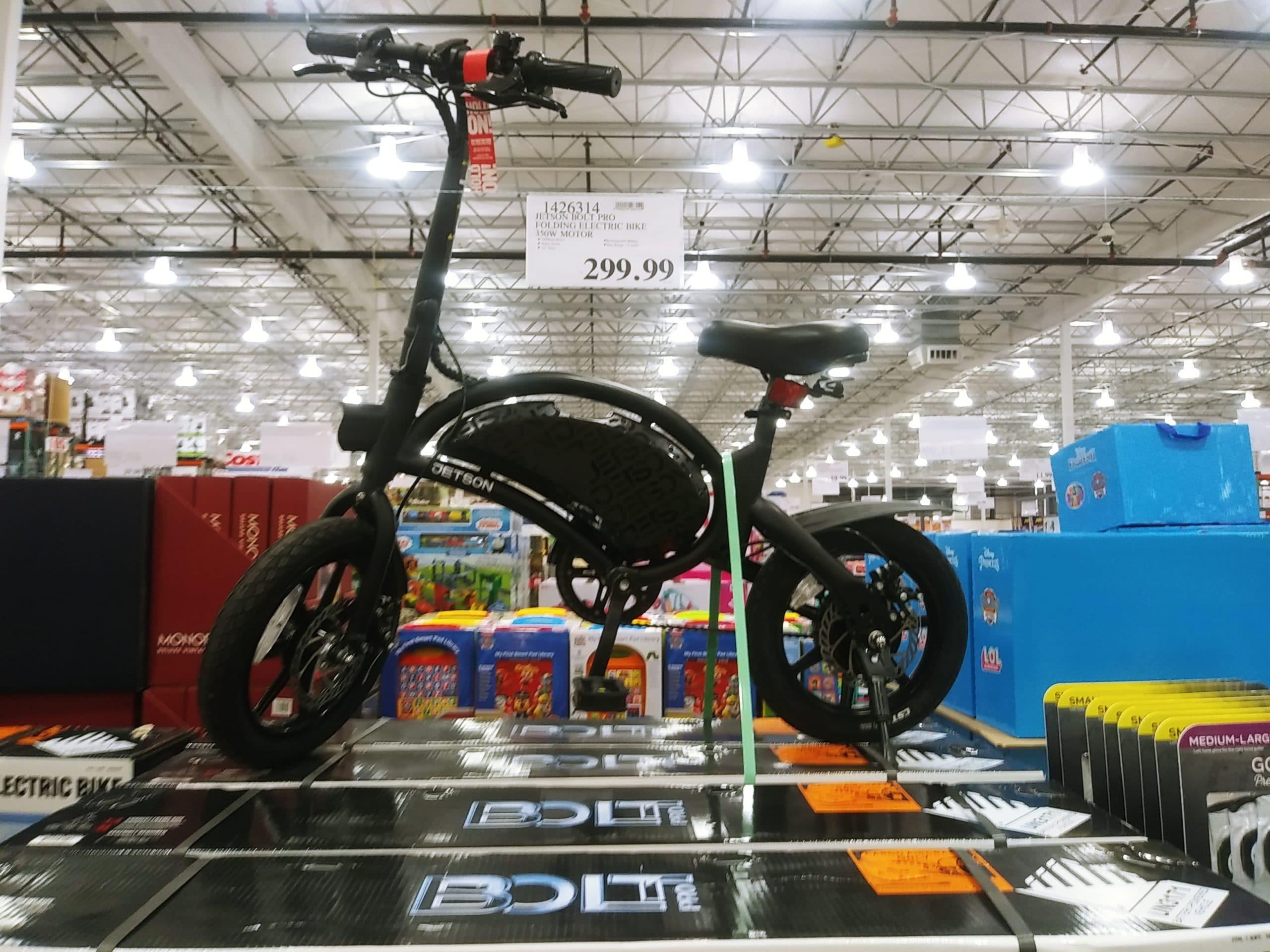 Jetson Bolt Pro Folding E Bike $299.99