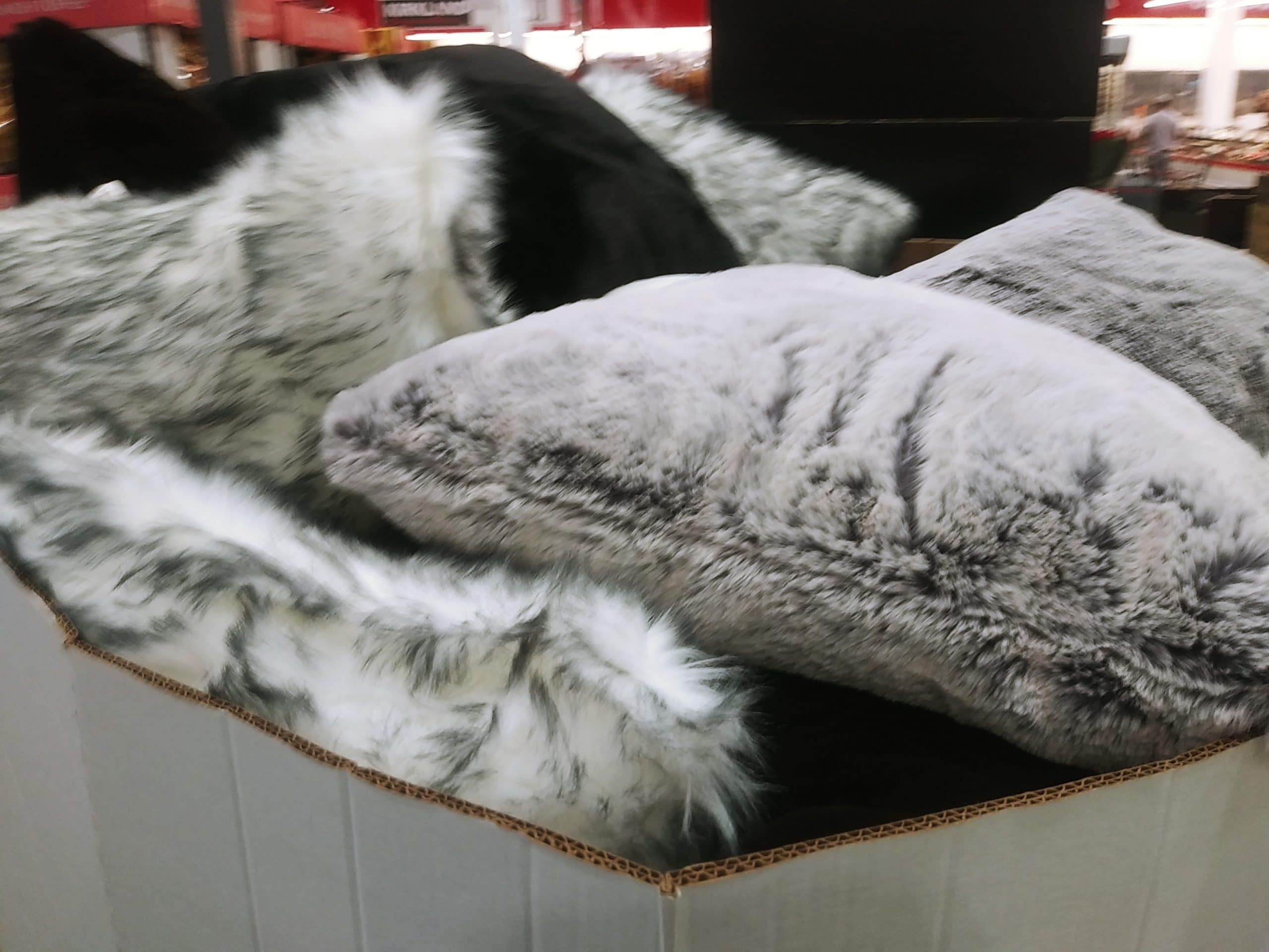 Brentwood Original Faux Fur Pillows ONLY $12.99