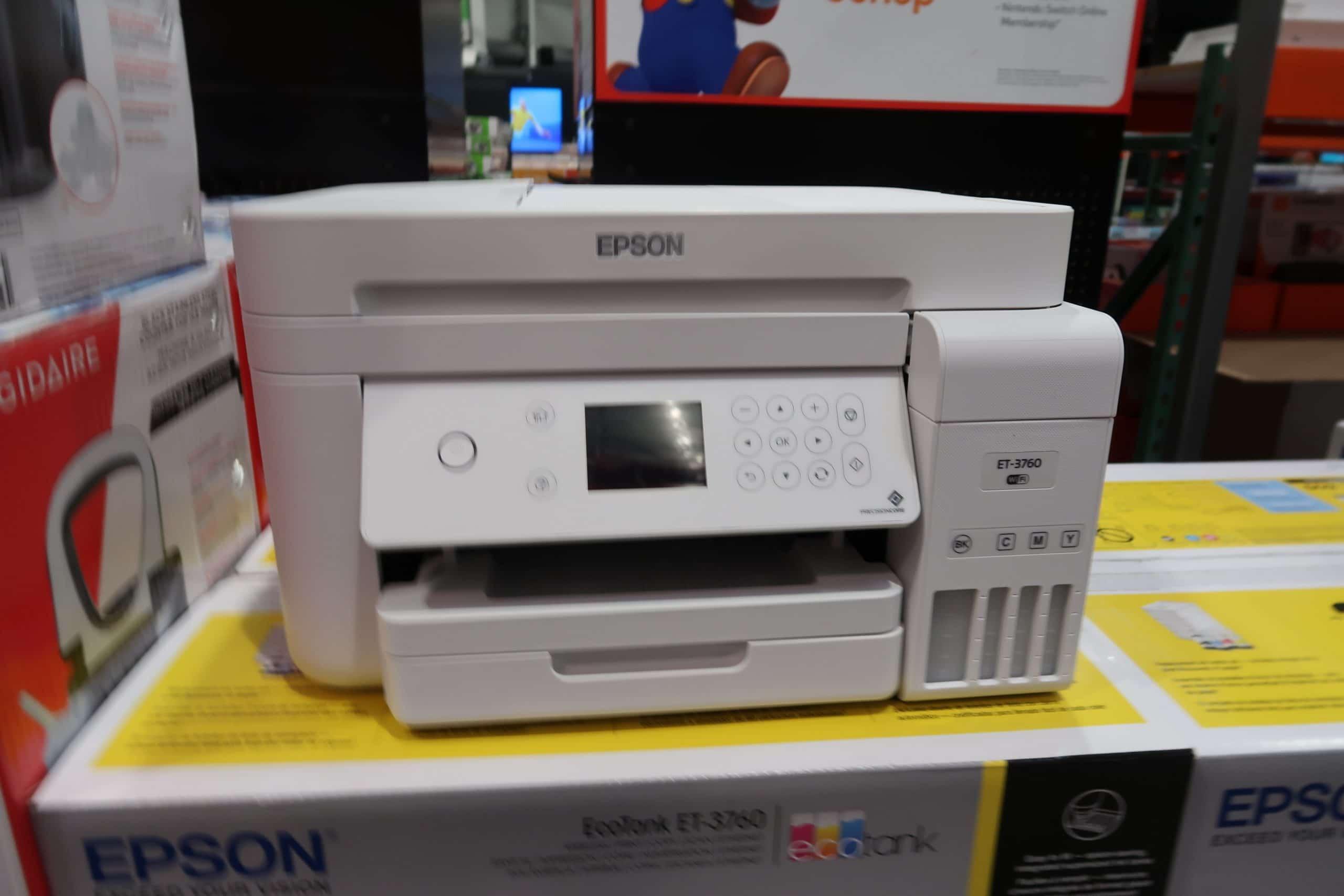 Epson ET-3760 Ecotank Printer $349.99