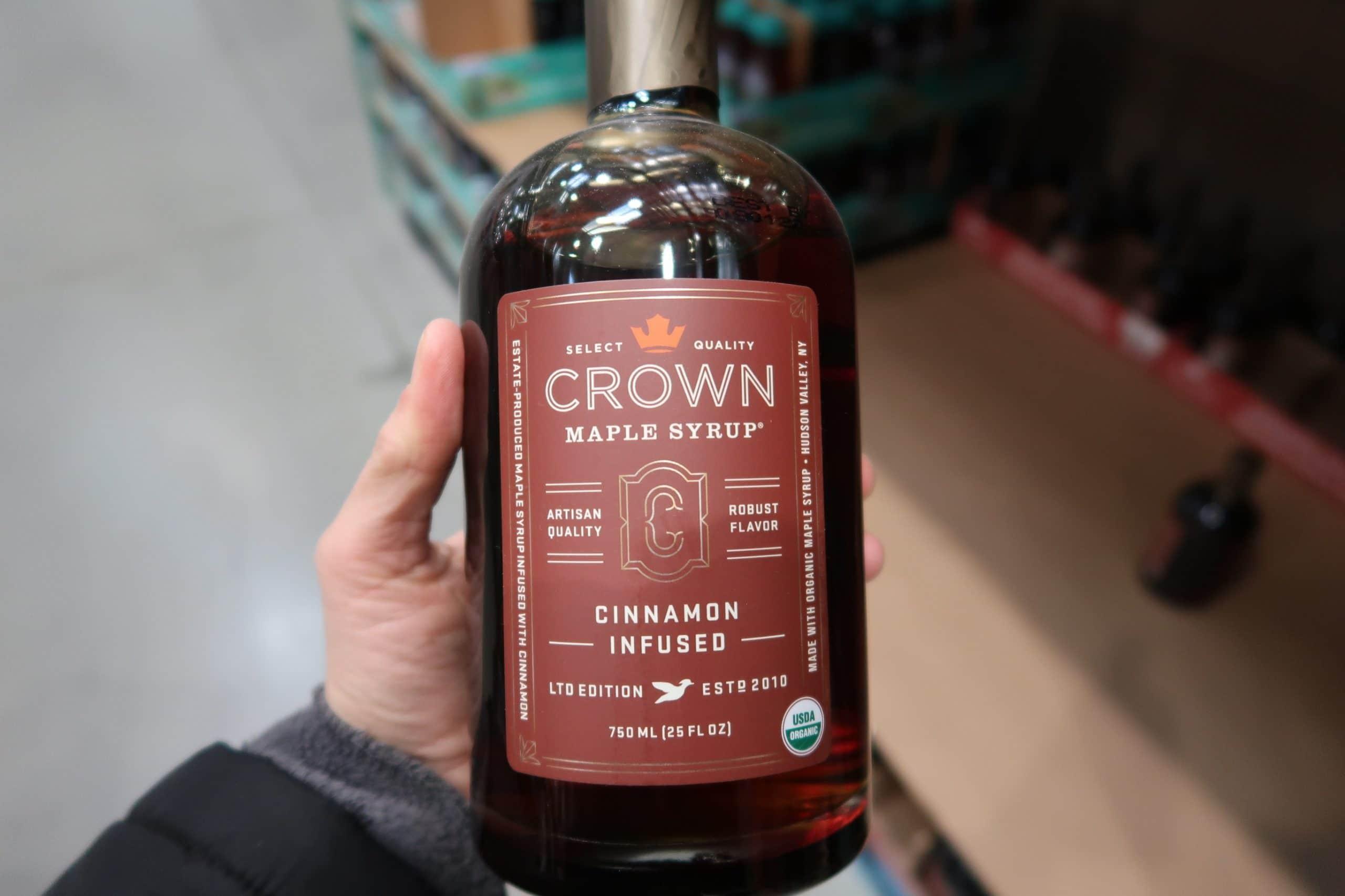 Organic Crown Cinnamon Infused Maple Syrup $9.97