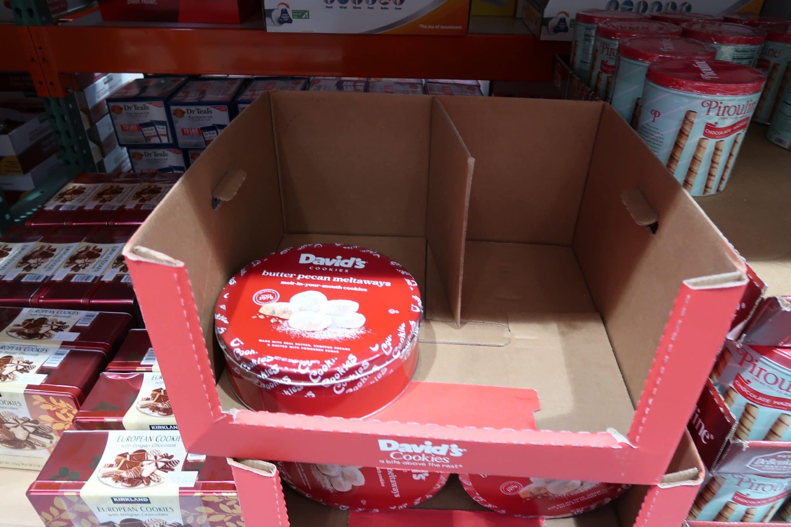 Davids Butter Pecan Meltaways $6.97