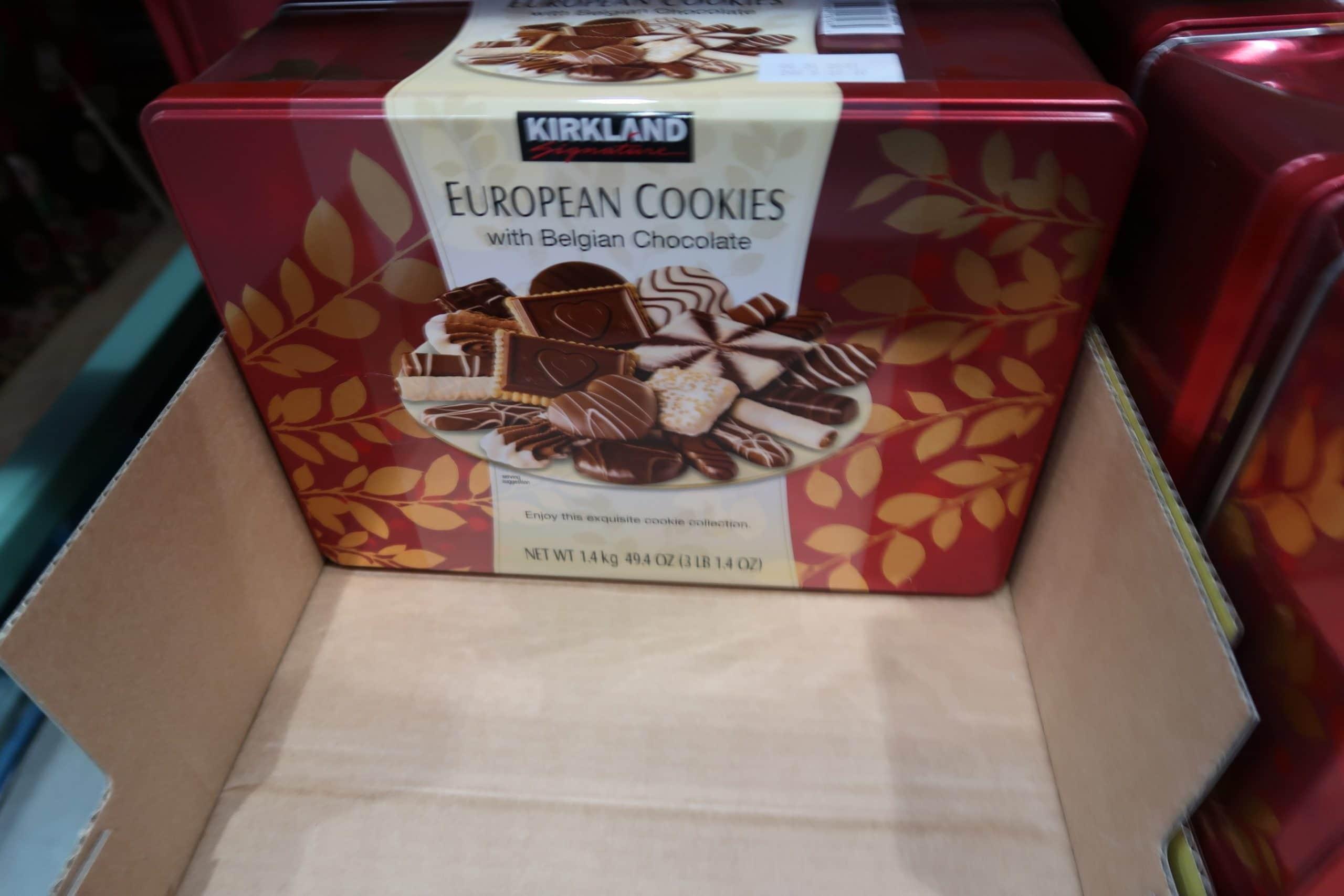 Kirkland European Belgian Chocolate Cookies $8.97